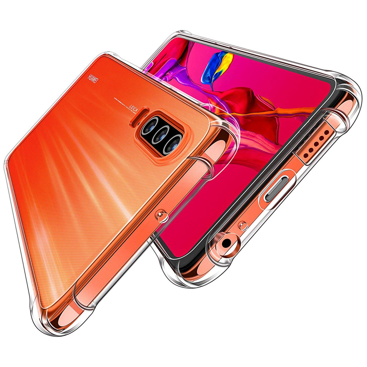 Huelle-fuer-Huawei-P30-Schutzhuelle-Anti-Shock-Handy-Case-Transparent-Cover Indexbild 10
