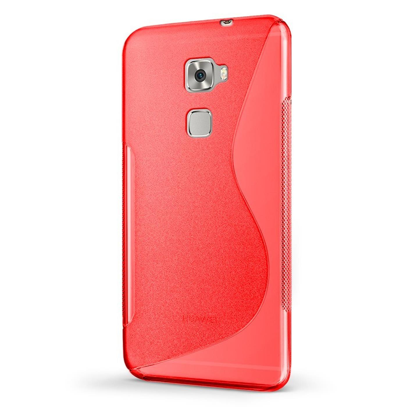 Huawei-Mate-8-Silikon-Gel-S-Line-Case-Cover-Ultra-Thin-Slim-Back-Bumper Indexbild 16