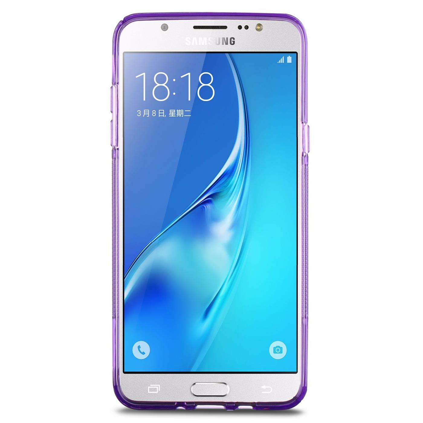 Samsung-Galaxy-j7-2016-Silikon-Gel-S-Line-Case-Cover-Duenn-Slim-Back-Bumper Indexbild 12