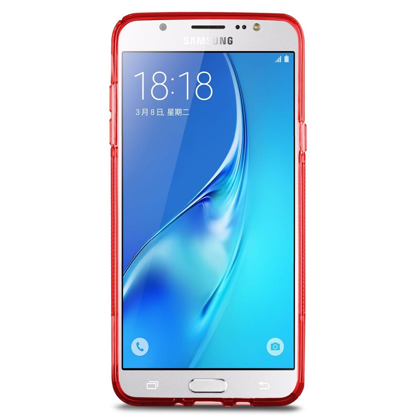 Samsung-Galaxy-j7-2016-Silikon-Gel-S-Line-Case-Cover-Duenn-Slim-Back-Bumper Indexbild 16