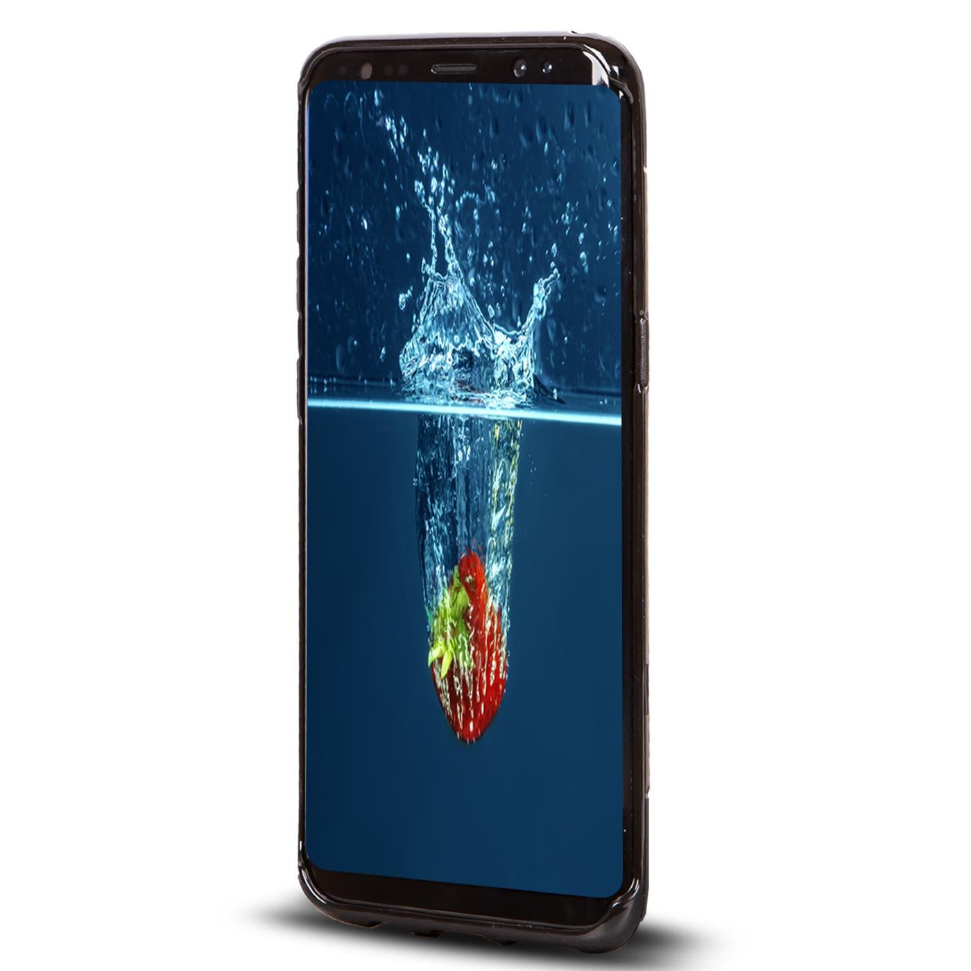 Handy-Huelle-fuer-Samsung-Galaxy-Schutz-Case-TPU-Silikon-Cover-Tasche-Schutzhuelle