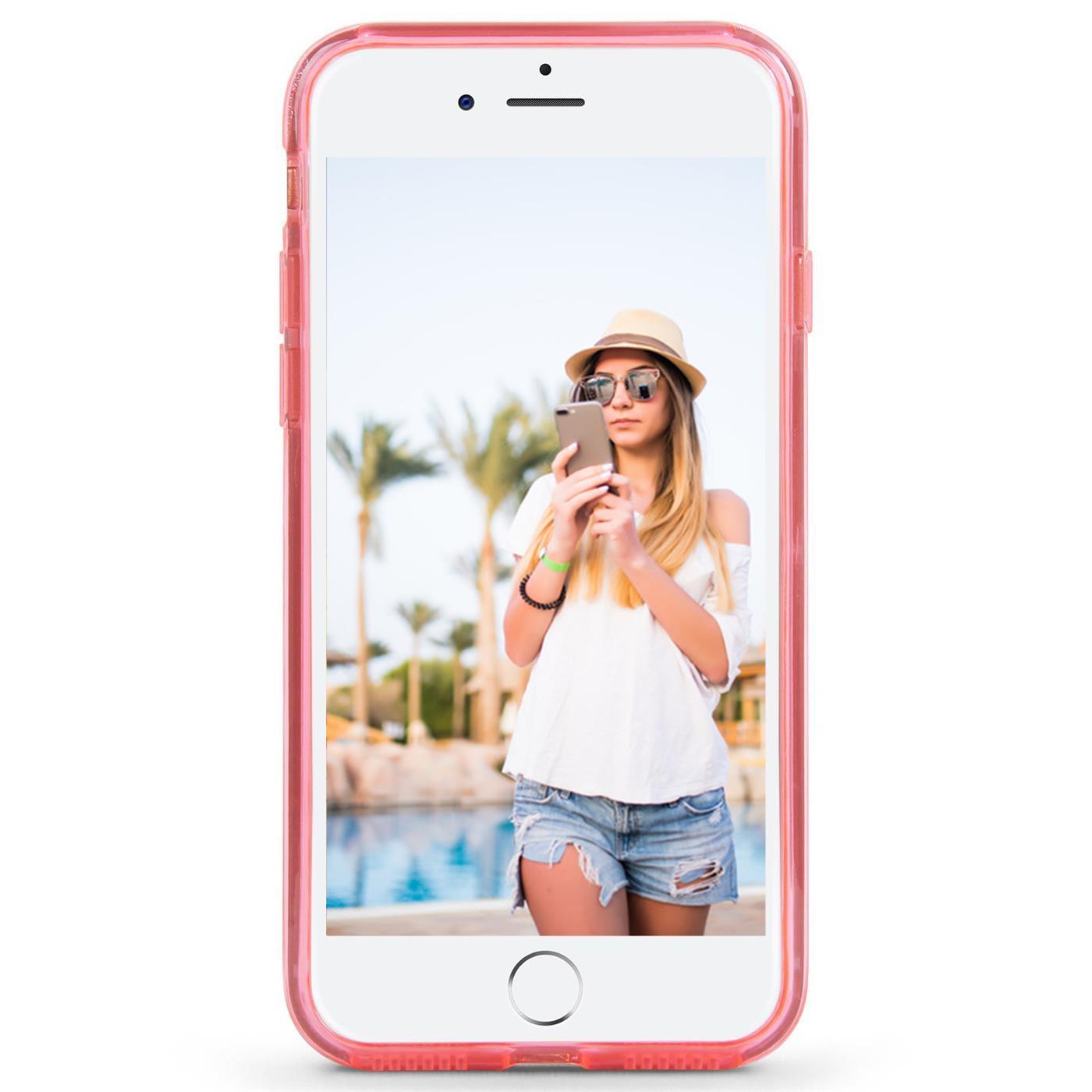 Handy-Glitzer-Huelle-fuer-Apple-iPhone-Slim-TPU-Cover-Case-Silikon-Schutz-Tasche Indexbild 11