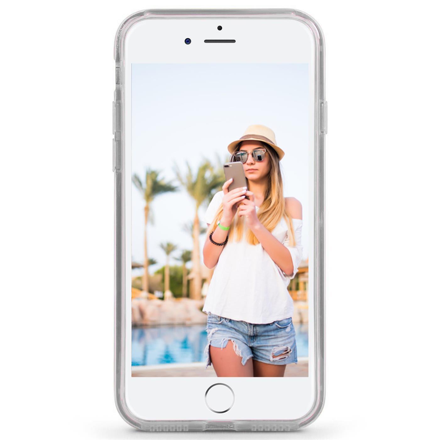 Handy-Glitzer-Huelle-fuer-Apple-iPhone-Slim-TPU-Cover-Case-Silikon-Schutz-Tasche Indexbild 17
