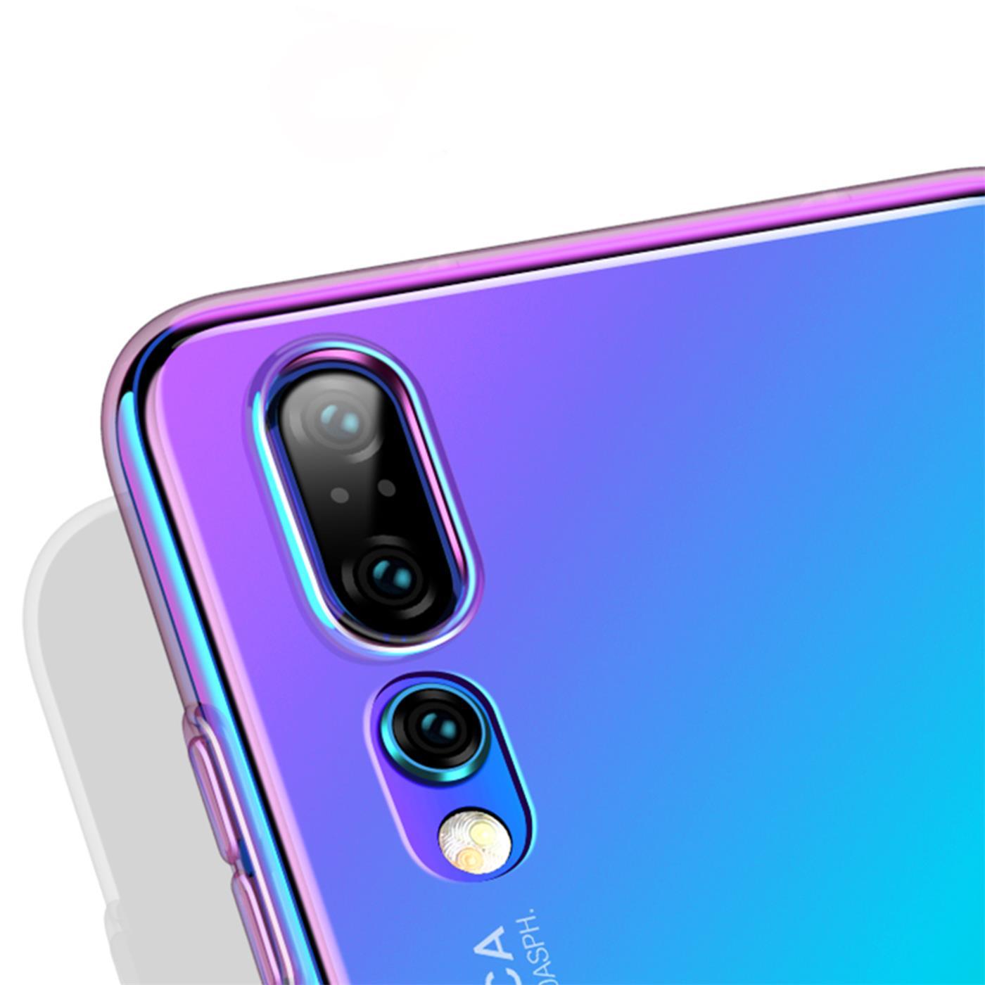 Farbwechsel-Handy-Huelle-fuer-Huawei-Y5-2019-Case-Slim-Schutz-Cover-Tasche Indexbild 10