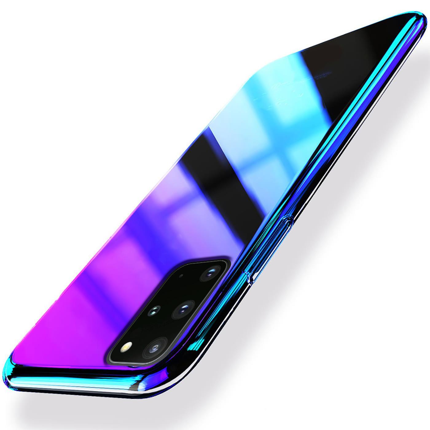 Farbwechsel-Handy-Huelle-fuer-Samsung-Galaxy-A10-Case-Slim-Schutz-Cover-Tasche Indexbild 9