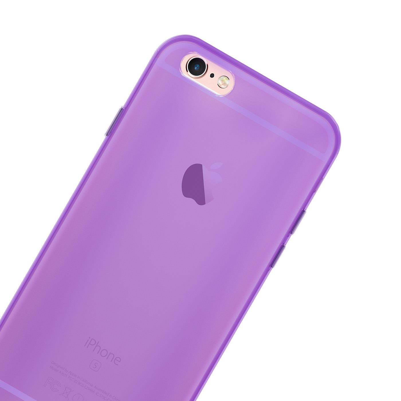 Handy-Huelle-Silikon-Case-Schutz-Tasche-Duenn-Slim-Cover-fuer-Apple-iPhone-Modelle Indexbild 26