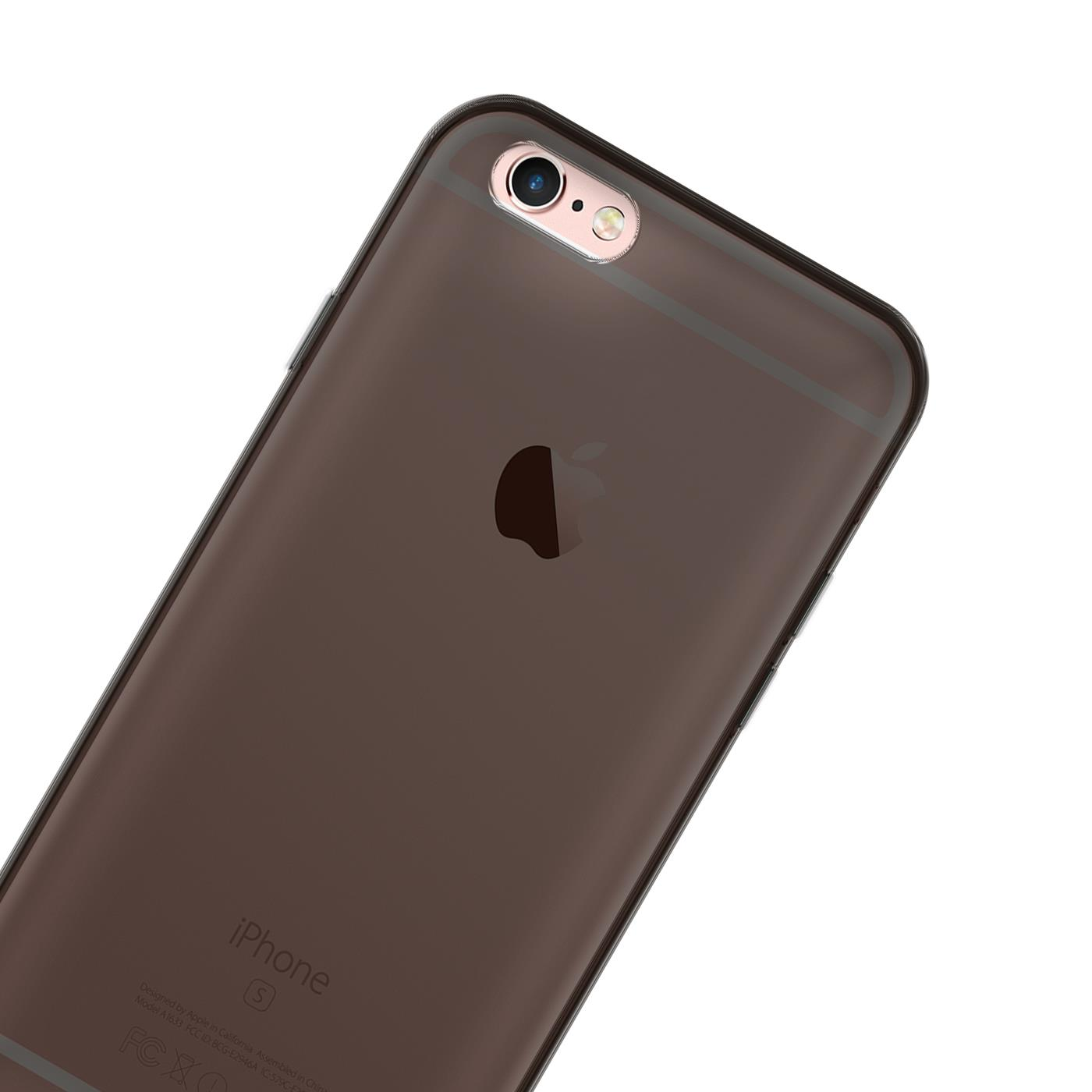 Handy-Huelle-Silikon-Case-Schutz-Tasche-Duenn-Slim-Cover-fuer-Apple-iPhone-Modelle Indexbild 34