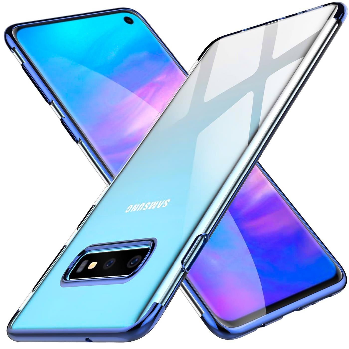 Samsung-Galaxy-S10-Huelle-Schutzhuelle-Handy-Tasche-Slim-Cover-Case-Transparent Indexbild 17