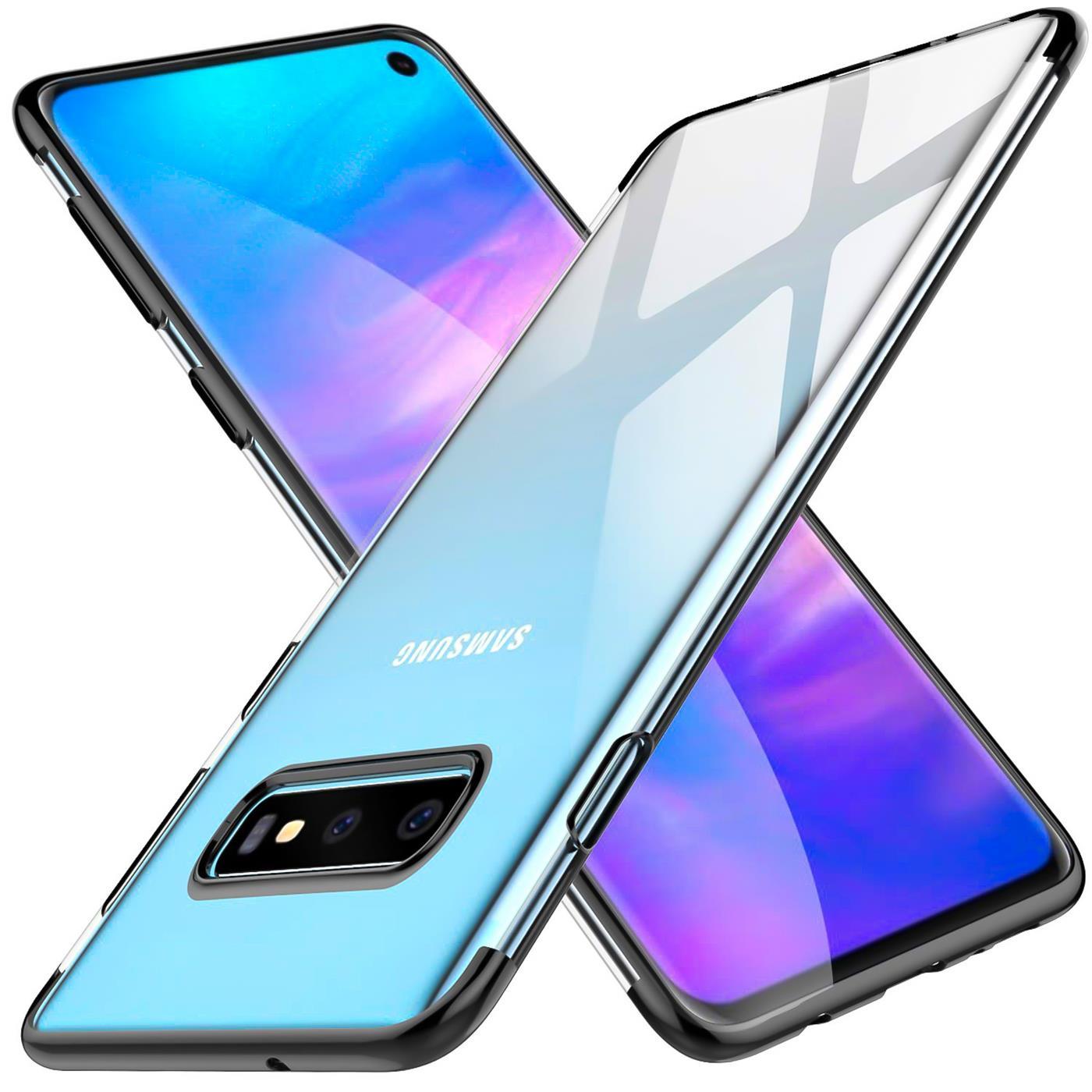 Samsung-Galaxy-S10-Huelle-Schutzhuelle-Handy-Tasche-Slim-Cover-Case-Transparent Indexbild 9