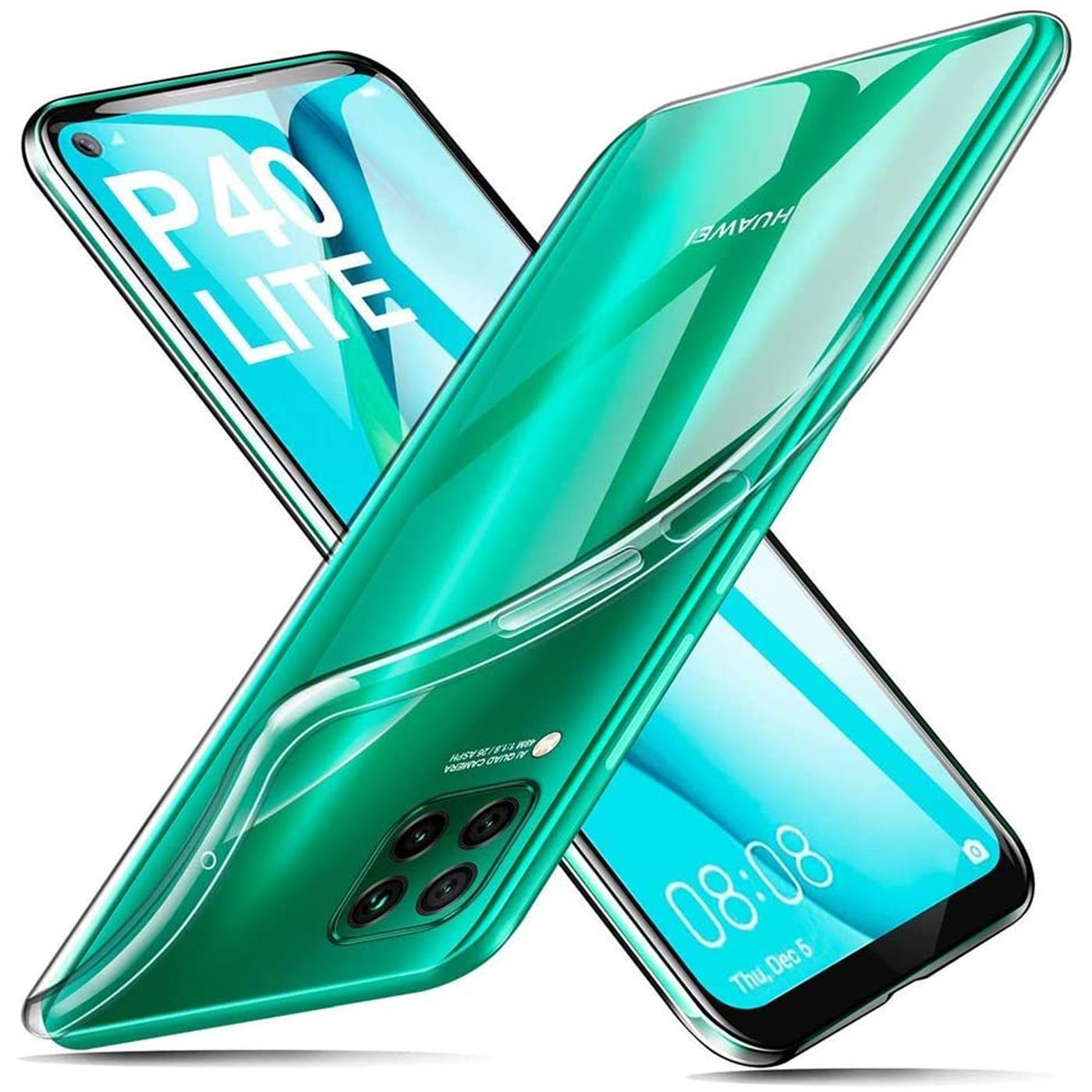 Handy-Case-fuer-Huawei-P40-Lite-Huelle-Transparent-Schutz-Tasche-Handyhuelle-Cover Indexbild 9
