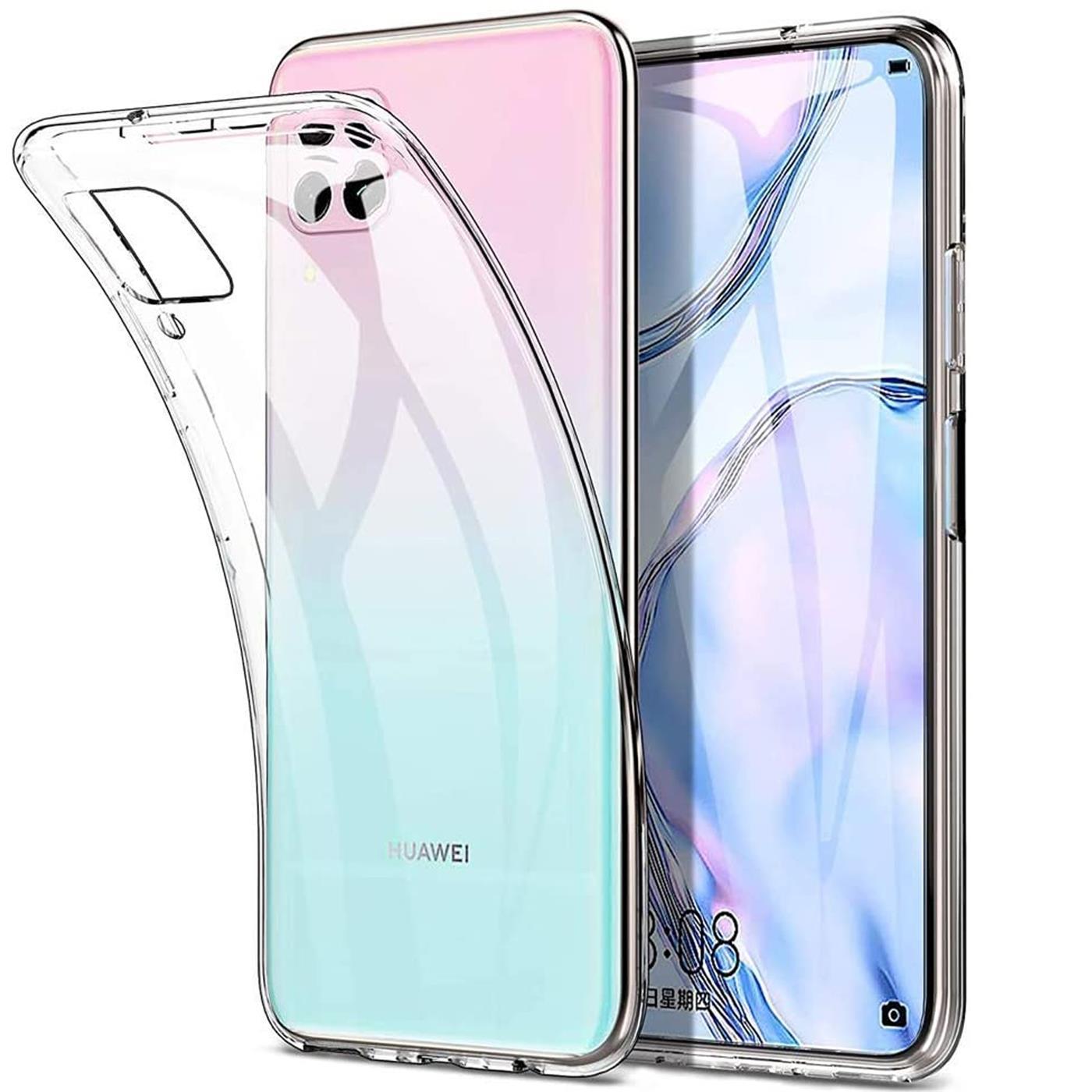 Handy-Case-fuer-Huawei-P40-Lite-Huelle-Transparent-Schutz-Tasche-Handyhuelle-Cover Indexbild 10
