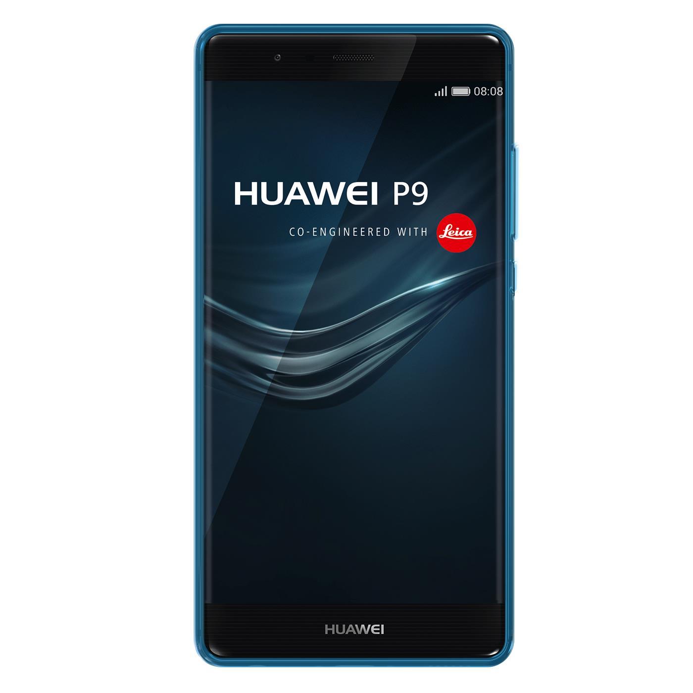 Huawei-p9-Duenn-Silikon-Klar-Case-Cover-Ultra-Slim-Stossfeste-Gel-Rueckseite Indexbild 9