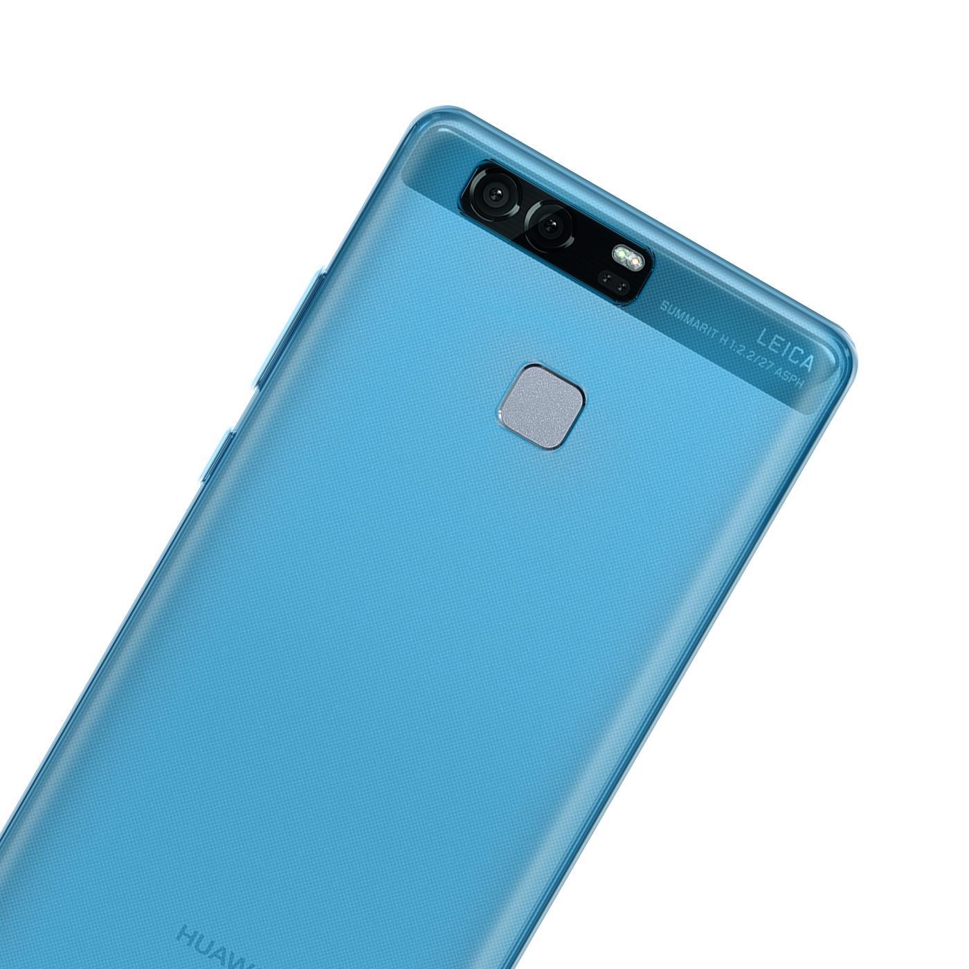 Huawei-p9-Duenn-Silikon-Klar-Case-Cover-Ultra-Slim-Stossfeste-Gel-Rueckseite Indexbild 10