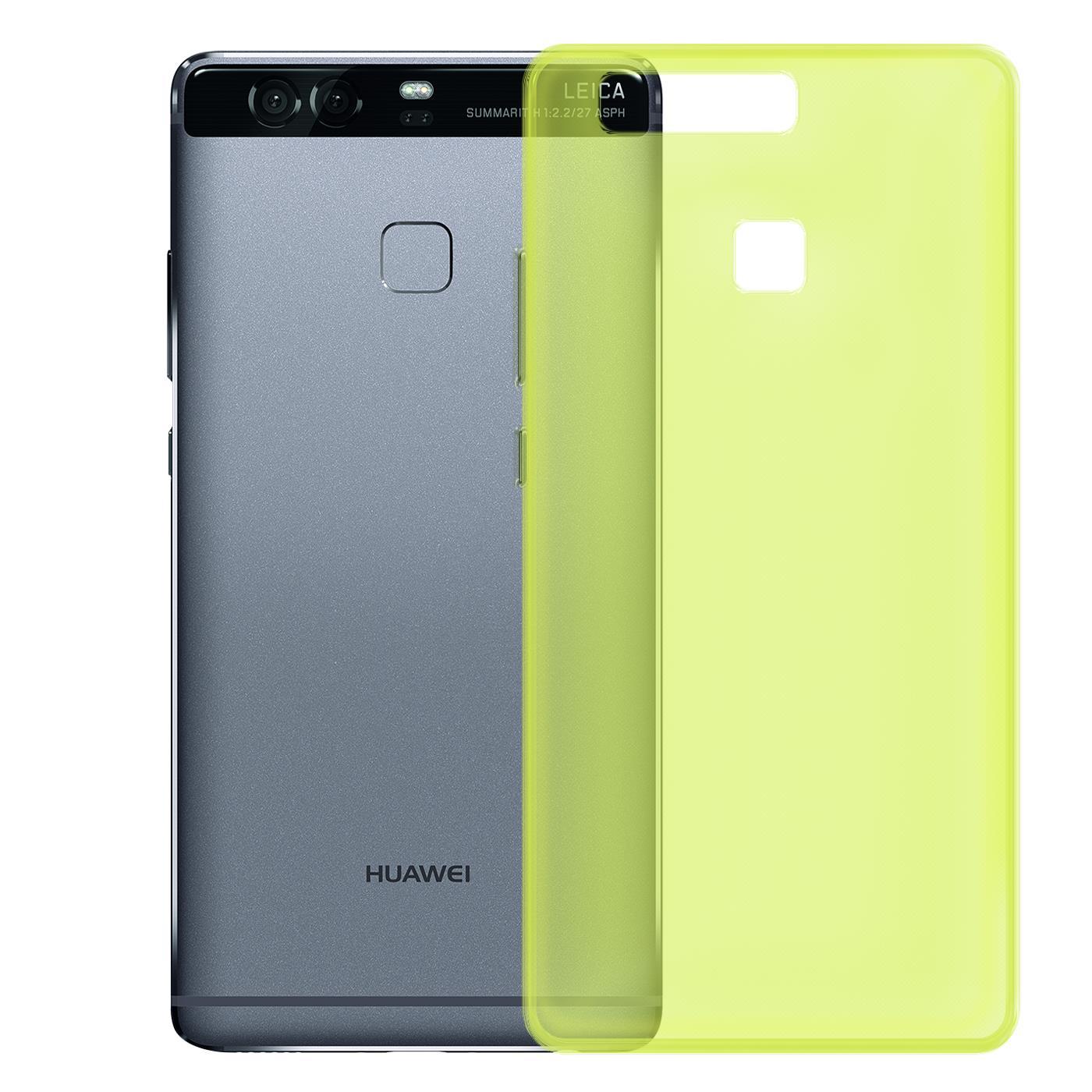Huawei-p9-Duenn-Silikon-Klar-Case-Cover-Ultra-Slim-Stossfeste-Gel-Rueckseite Indexbild 12