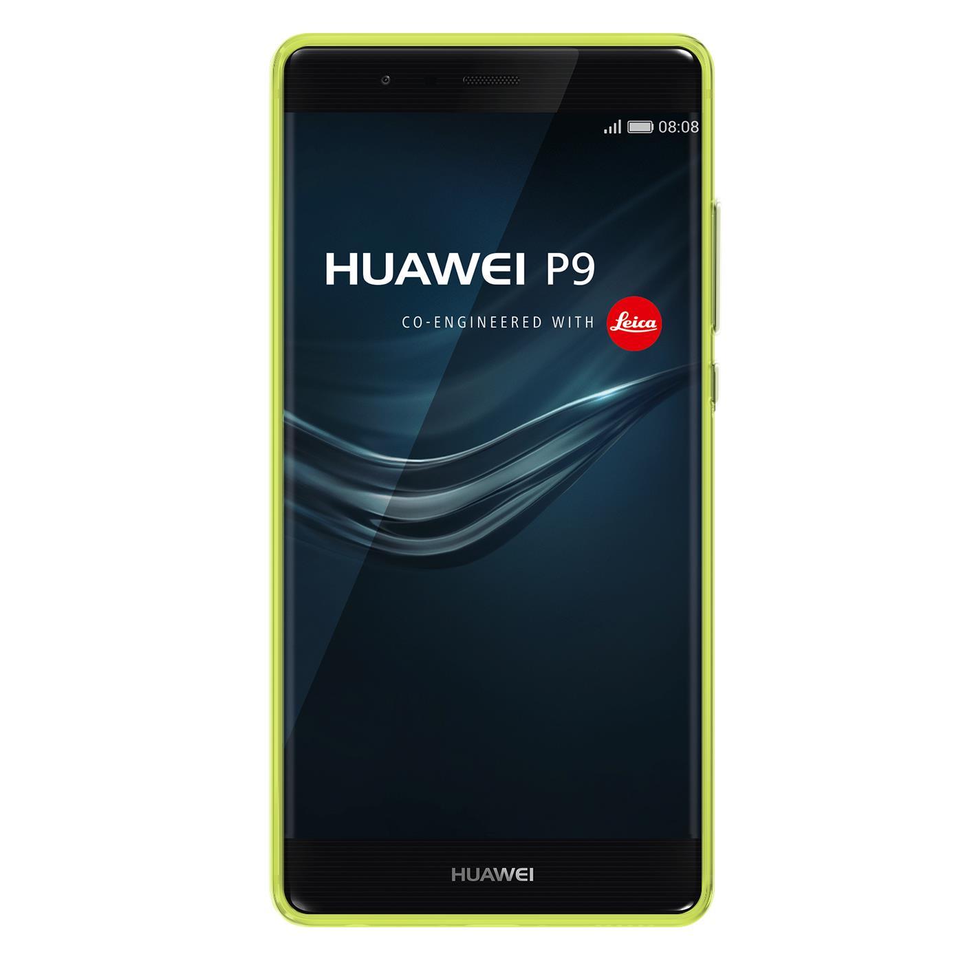 Huawei-p9-Duenn-Silikon-Klar-Case-Cover-Ultra-Slim-Stossfeste-Gel-Rueckseite Indexbild 13