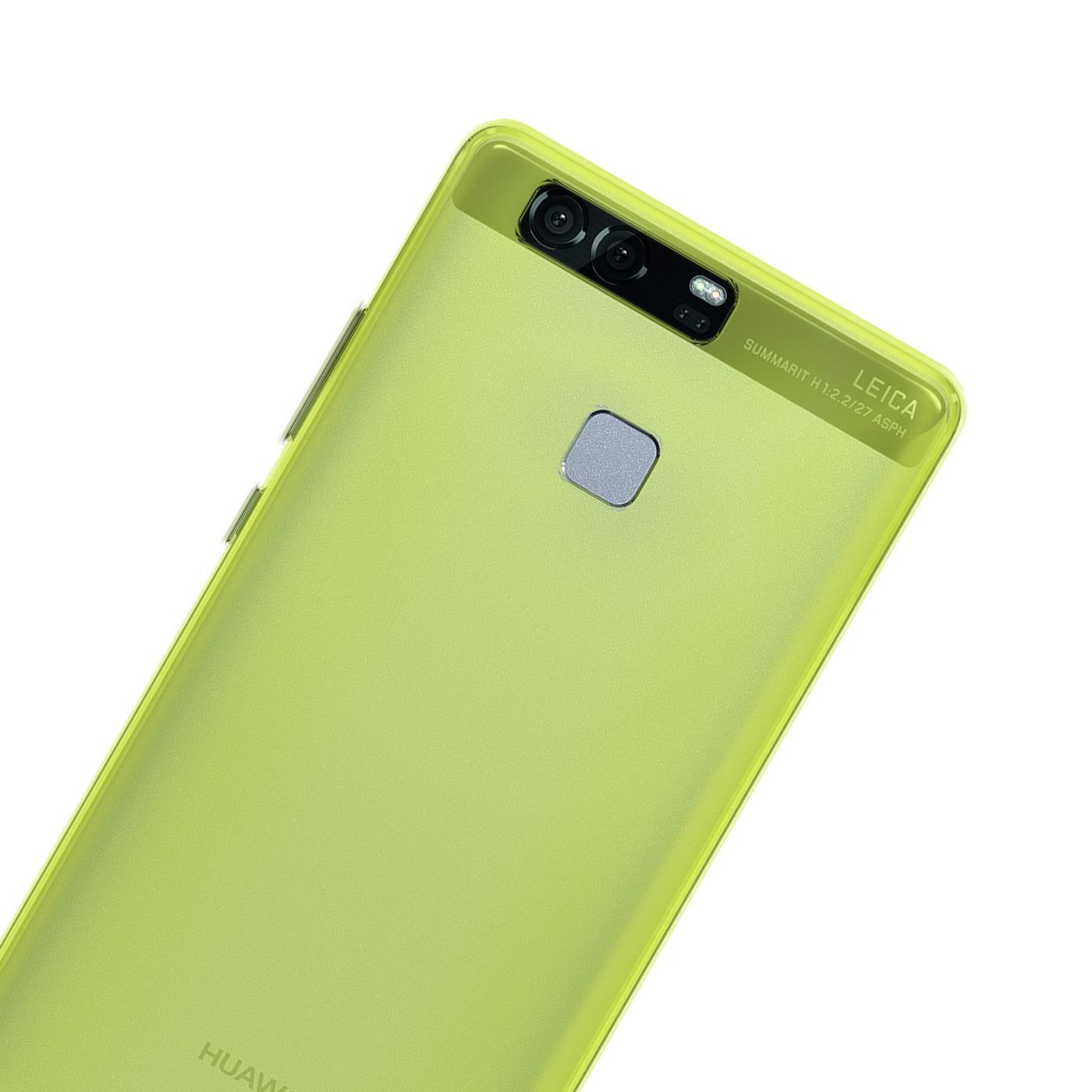 Huawei-p9-Duenn-Silikon-Klar-Case-Cover-Ultra-Slim-Stossfeste-Gel-Rueckseite Indexbild 14