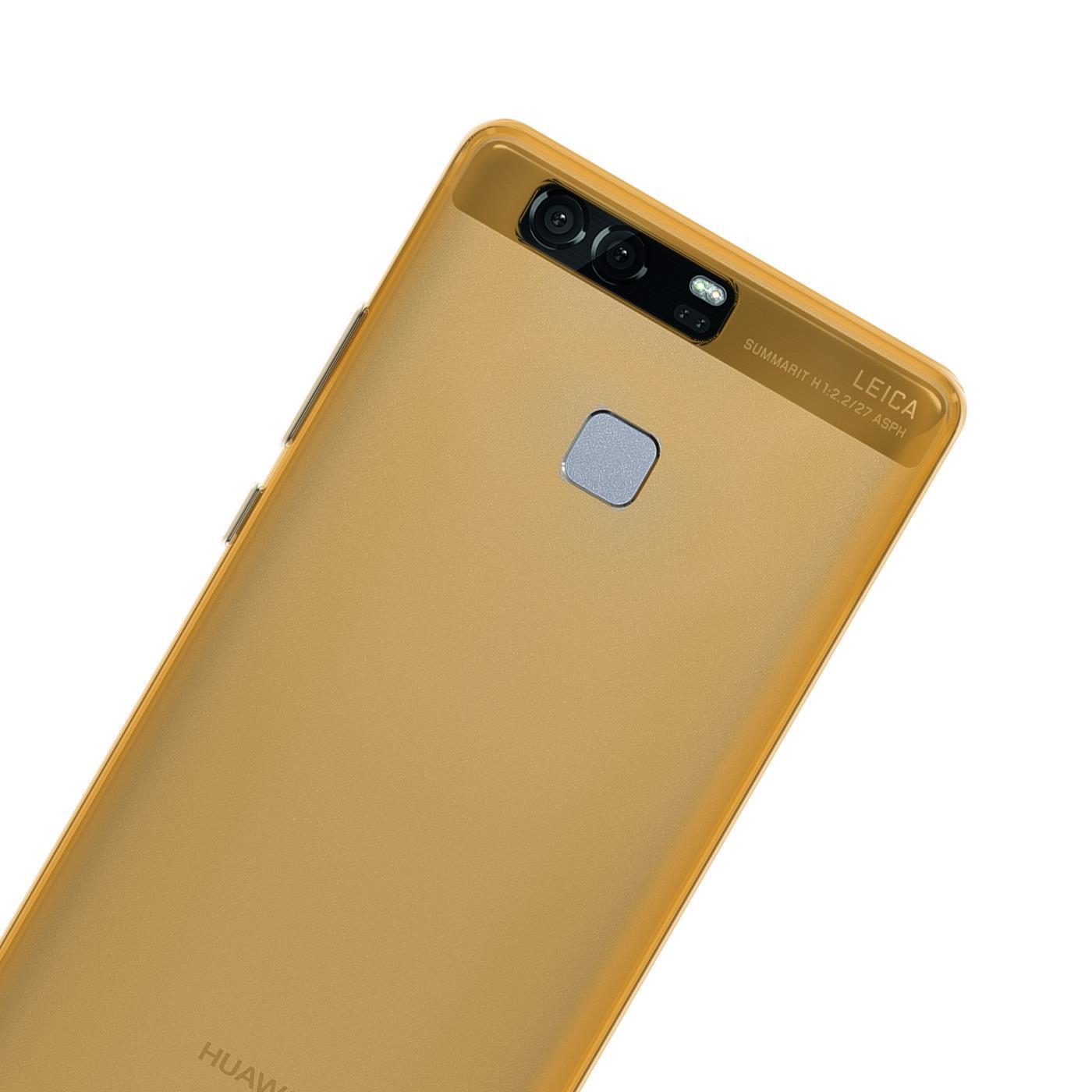 Huawei-p9-Duenn-Silikon-Klar-Case-Cover-Ultra-Slim-Stossfeste-Gel-Rueckseite Indexbild 18