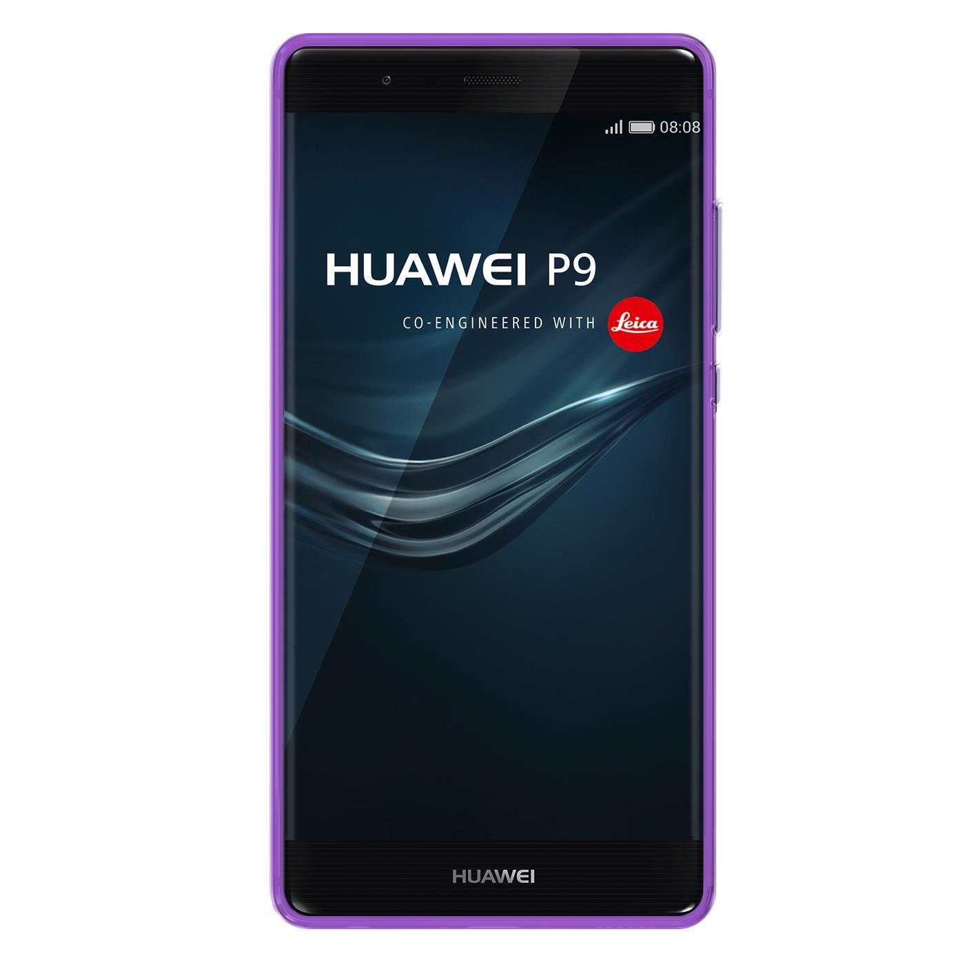 Huawei-p9-Duenn-Silikon-Klar-Case-Cover-Ultra-Slim-Stossfeste-Gel-Rueckseite Indexbild 21