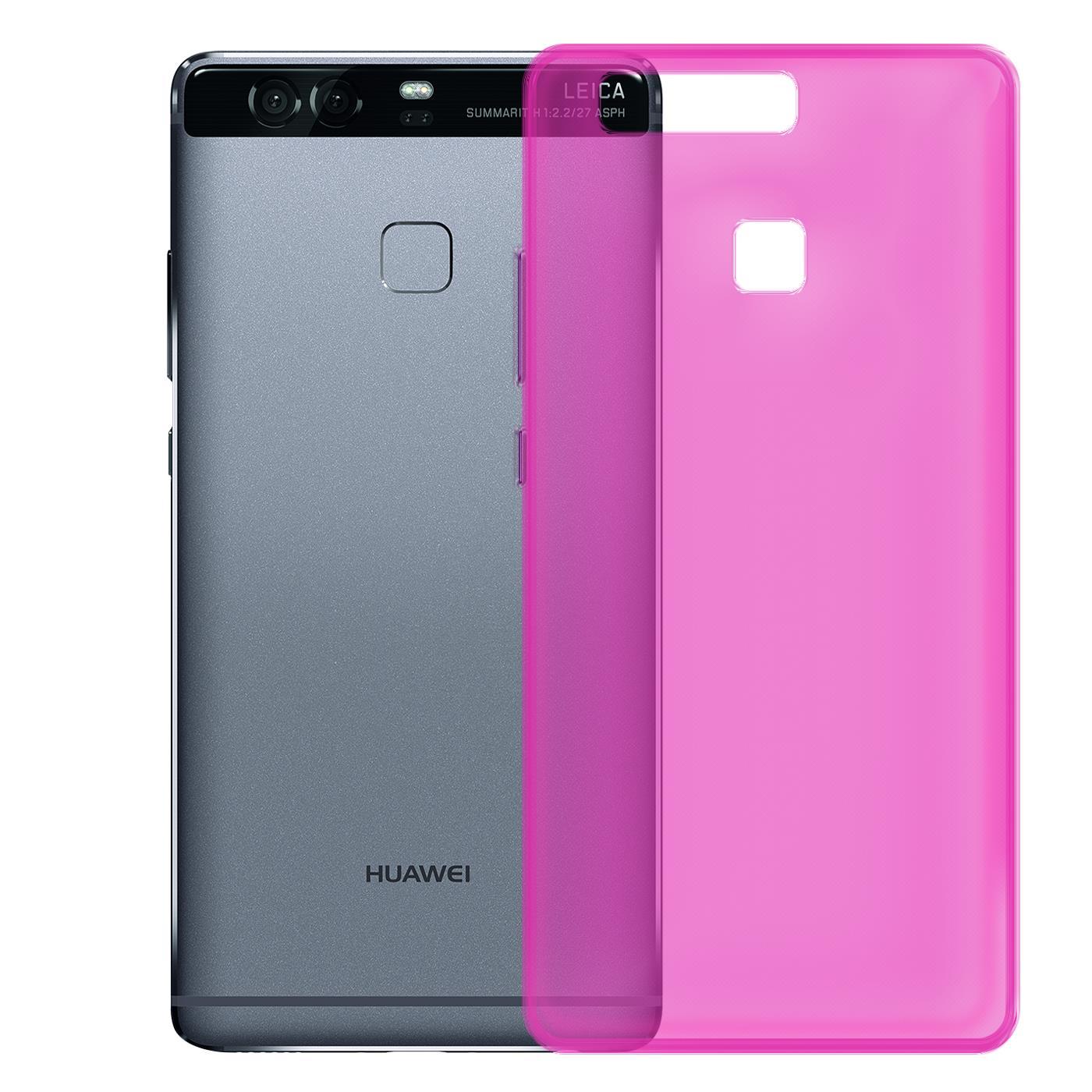 Huawei-p9-Duenn-Silikon-Klar-Case-Cover-Ultra-Slim-Stossfeste-Gel-Rueckseite Indexbild 24