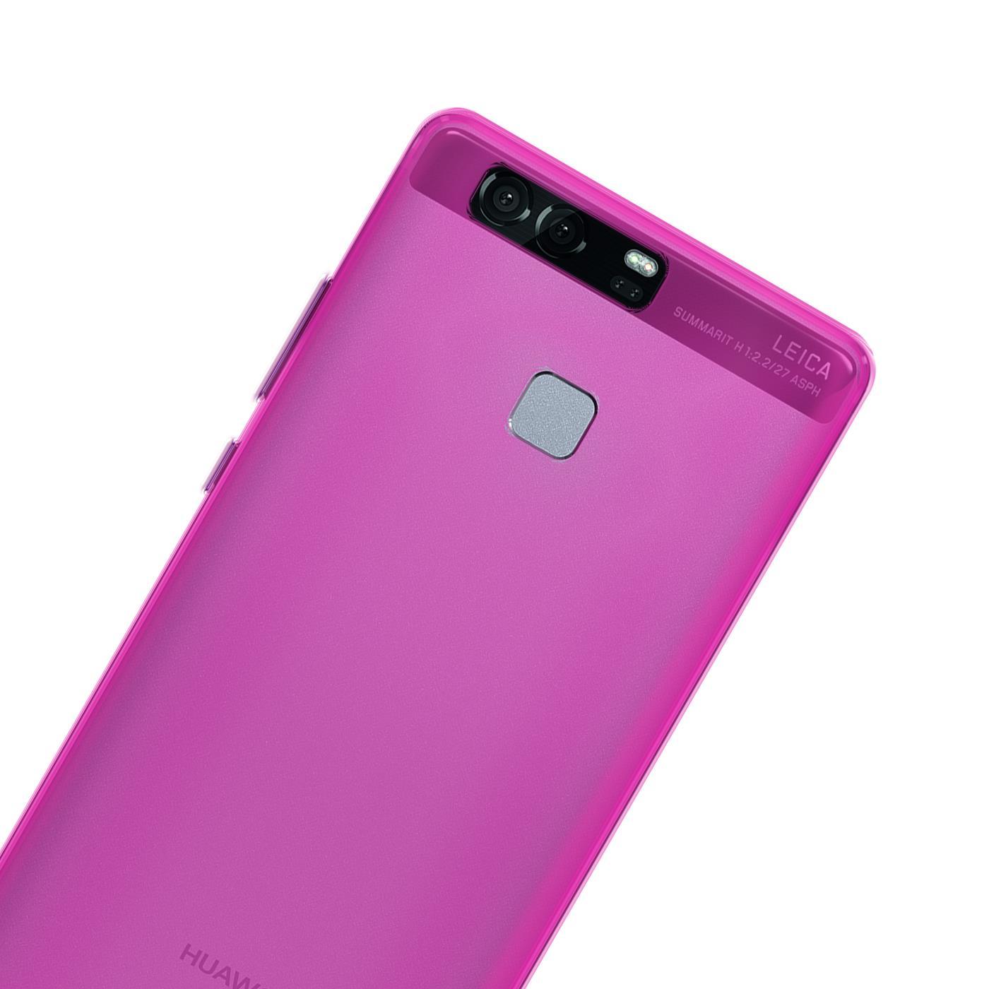 Huawei-p9-Duenn-Silikon-Klar-Case-Cover-Ultra-Slim-Stossfeste-Gel-Rueckseite Indexbild 26