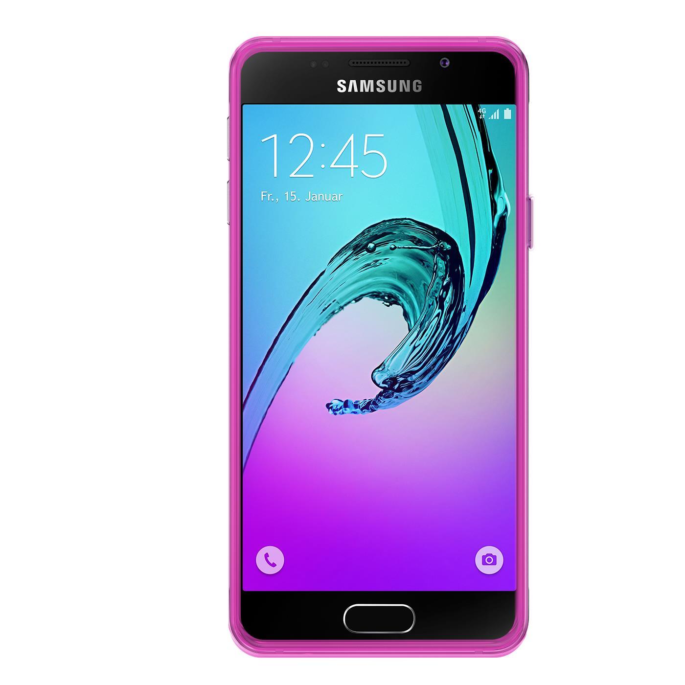 Samsung-Galaxy-a3-2016-Thin-Silikon-Klar-Case-Cover-Ultra-Slim-Stossfeste-Gel Indexbild 25