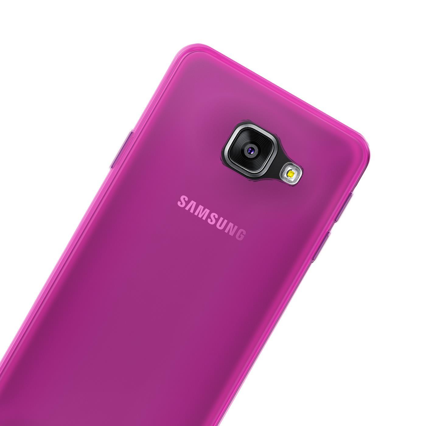 Samsung-Galaxy-a3-2016-Thin-Silikon-Klar-Case-Cover-Ultra-Slim-Stossfeste-Gel Indexbild 26