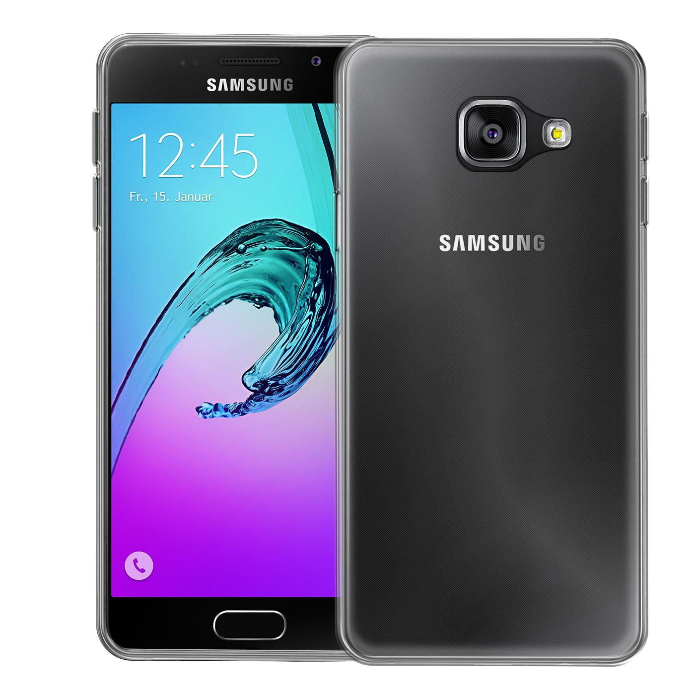 Samsung-Galaxy-a3-2016-Thin-Silikon-Klar-Case-Cover-Ultra-Slim-Stossfeste-Gel Indexbild 2