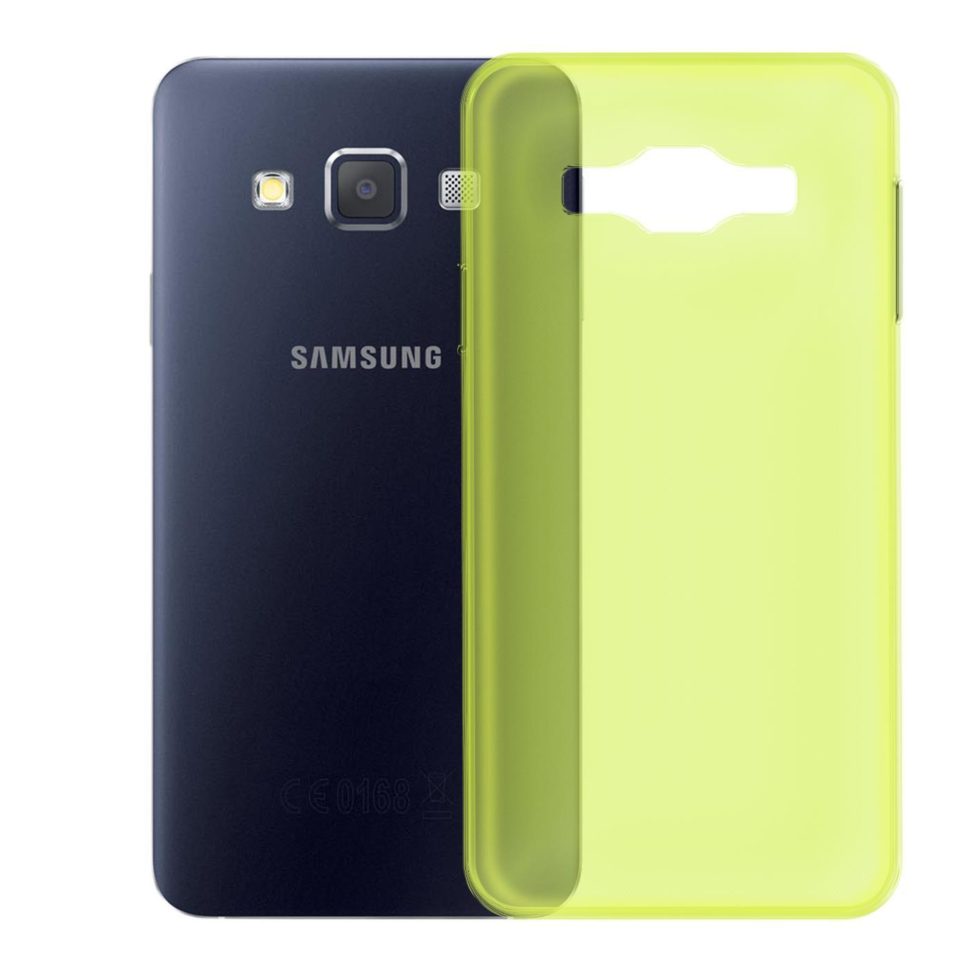 Samsung-Galaxy-A3-2015-Thin-Silicone-Clear-Case-Cover-Ultra-Slim-Shockproof-Gel Indexbild 10
