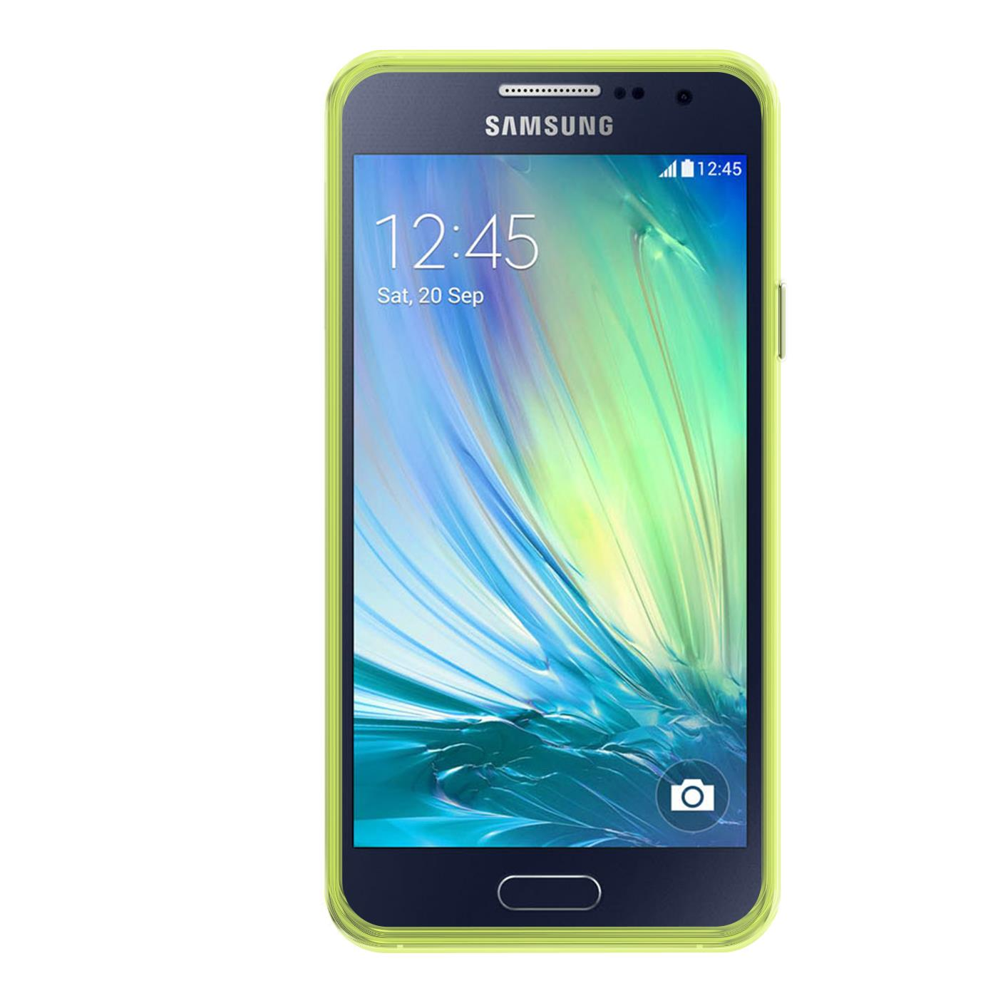 Samsung-Galaxy-A3-2015-Thin-Silicone-Clear-Case-Cover-Ultra-Slim-Shockproof-Gel Indexbild 11