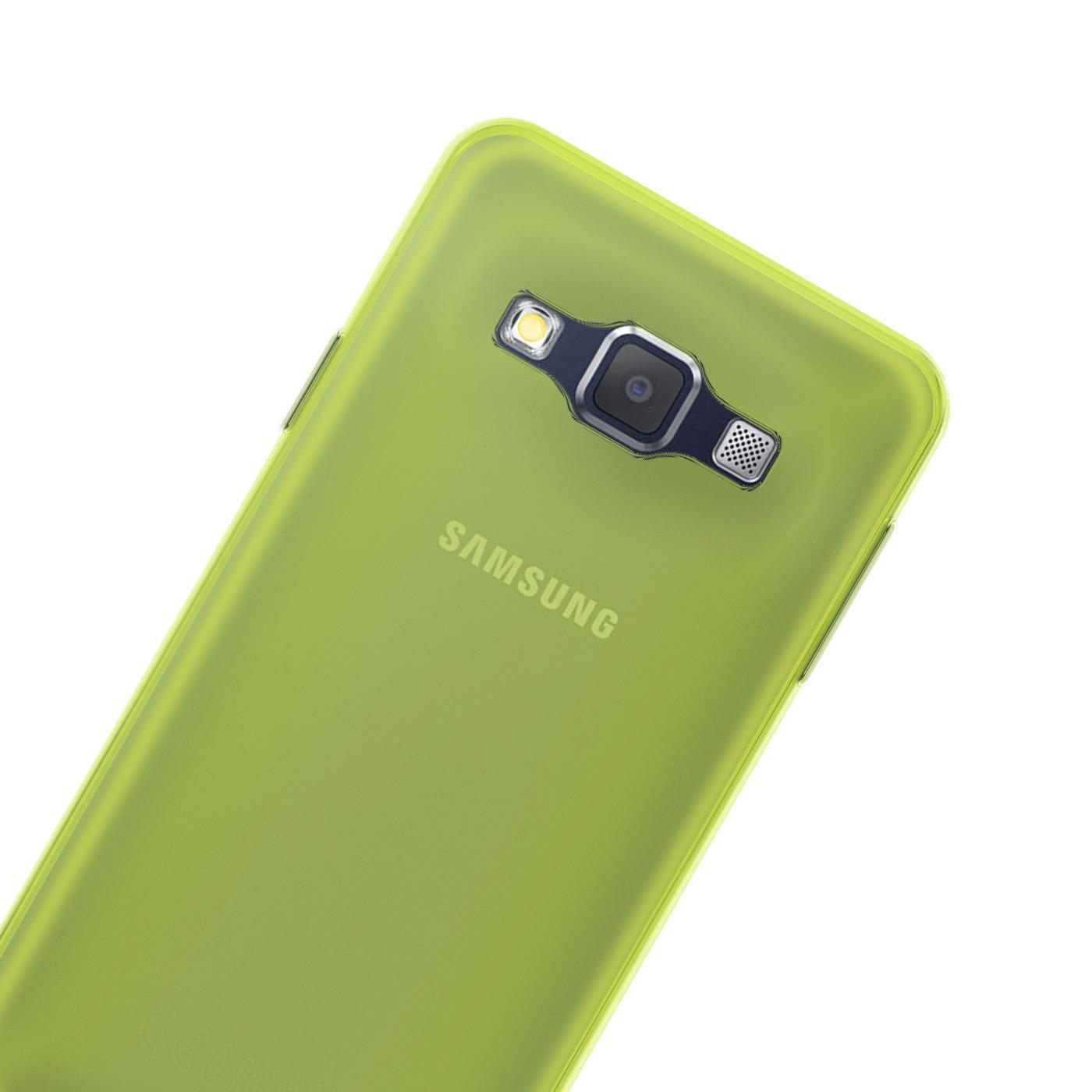 Samsung-Galaxy-A3-2015-Thin-Silicone-Clear-Case-Cover-Ultra-Slim-Shockproof-Gel Indexbild 12