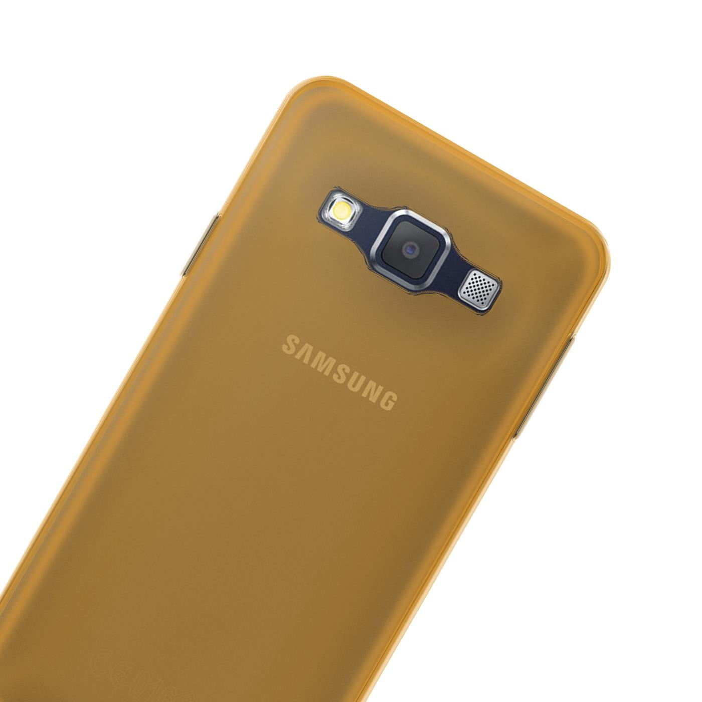 Samsung-Galaxy-A3-2015-Thin-Silicone-Clear-Case-Cover-Ultra-Slim-Shockproof-Gel Indexbild 16
