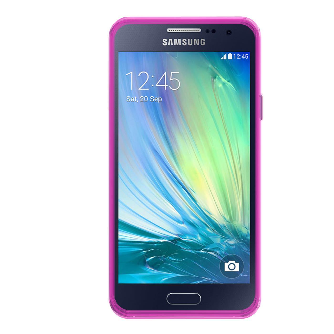 Samsung-Galaxy-A3-2015-Thin-Silicone-Clear-Case-Cover-Ultra-Slim-Shockproof-Gel Indexbild 23