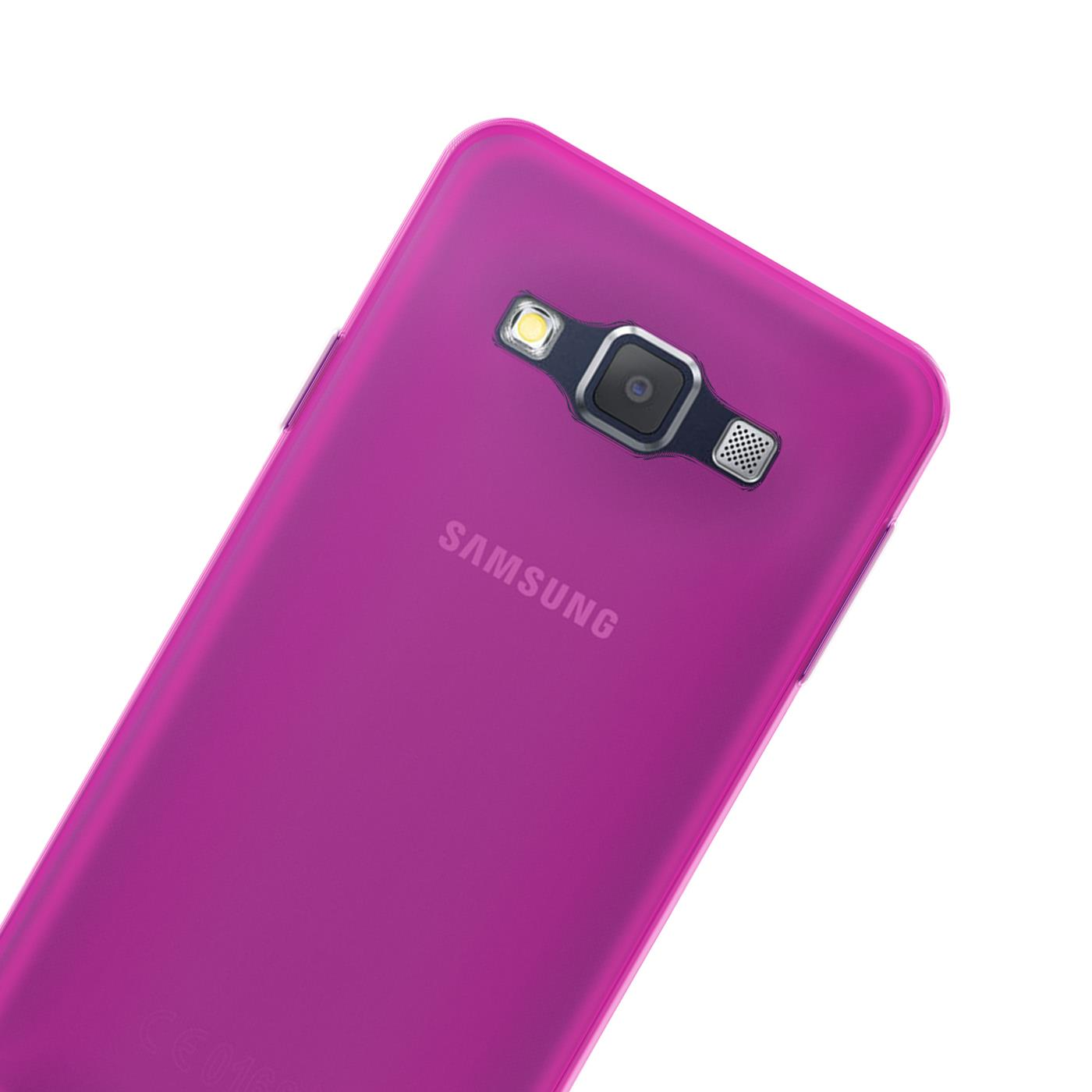 Samsung-Galaxy-A3-2015-Thin-Silicone-Clear-Case-Cover-Ultra-Slim-Shockproof-Gel Indexbild 24