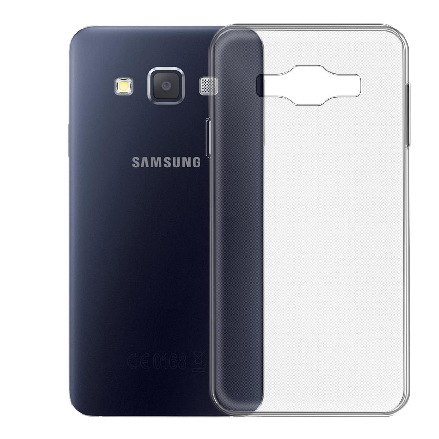 Samsung-Galaxy-A3-2015-Thin-Silicone-Clear-Case-Cover-Ultra-Slim-Shockproof-Gel Indexbild 30