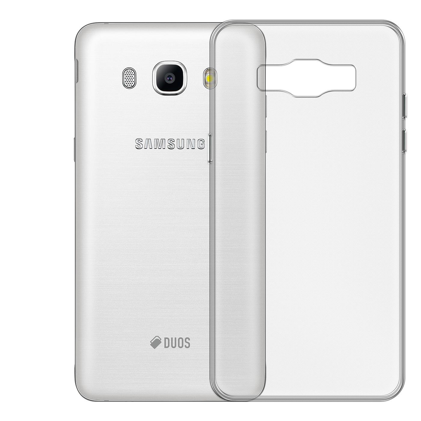 Samsung-Galaxy-j7-2016-Thin-Silikon-Klar-Case-Cover-Ultra-Slim-Stossfeste-Gel Indexbild 2