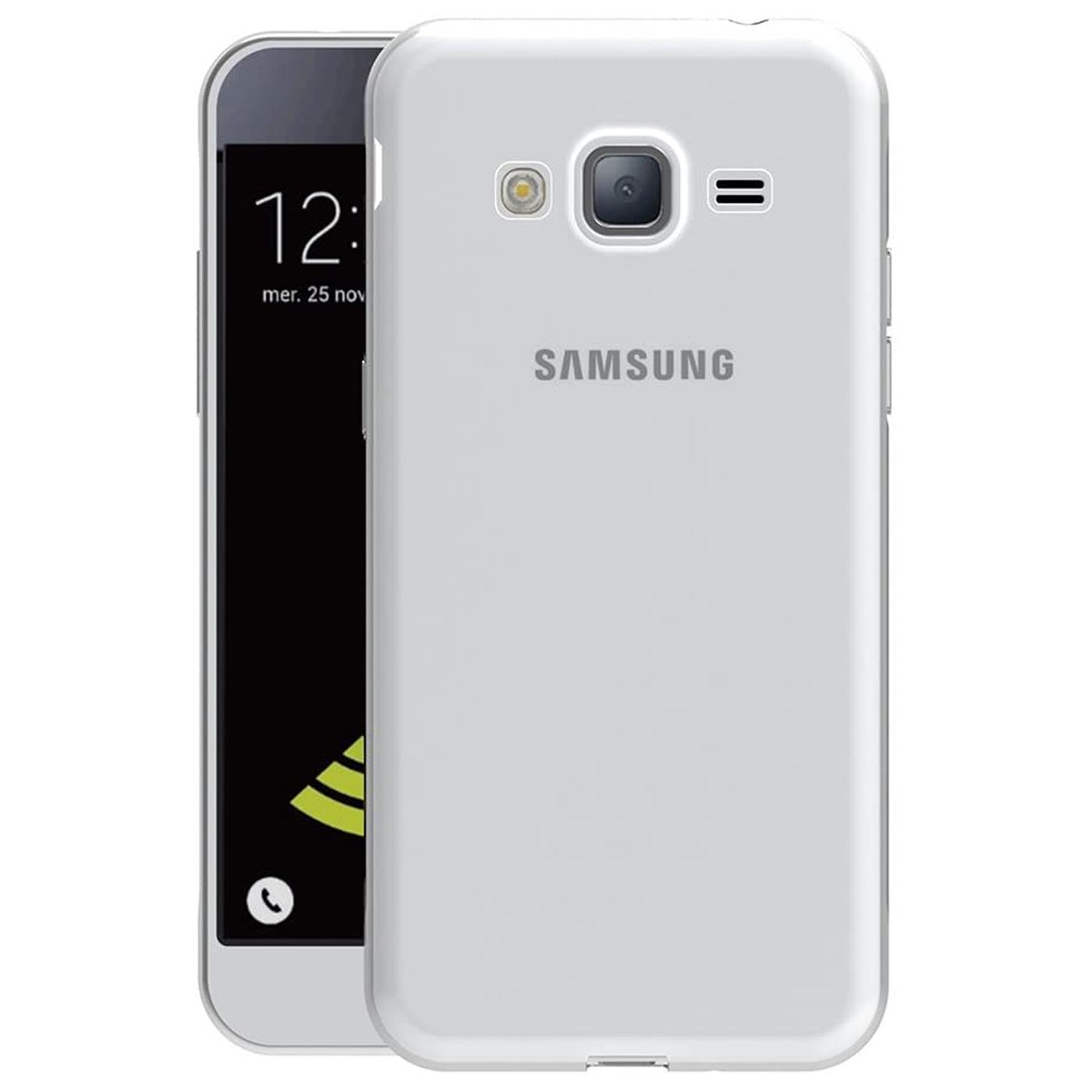 Samsung-Galaxy-j7-2016-Thin-Silikon-Klar-Case-Cover-Ultra-Slim-Stossfeste-Gel Indexbild 4