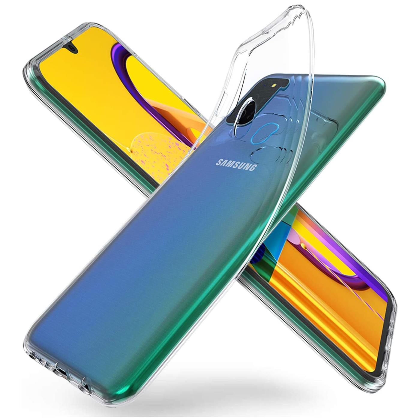 Handy-Case-fuer-Samsung-Galaxy-M31-Huelle-Transparent-Slim-Tasche-Handyhuelle-Cover Indexbild 9