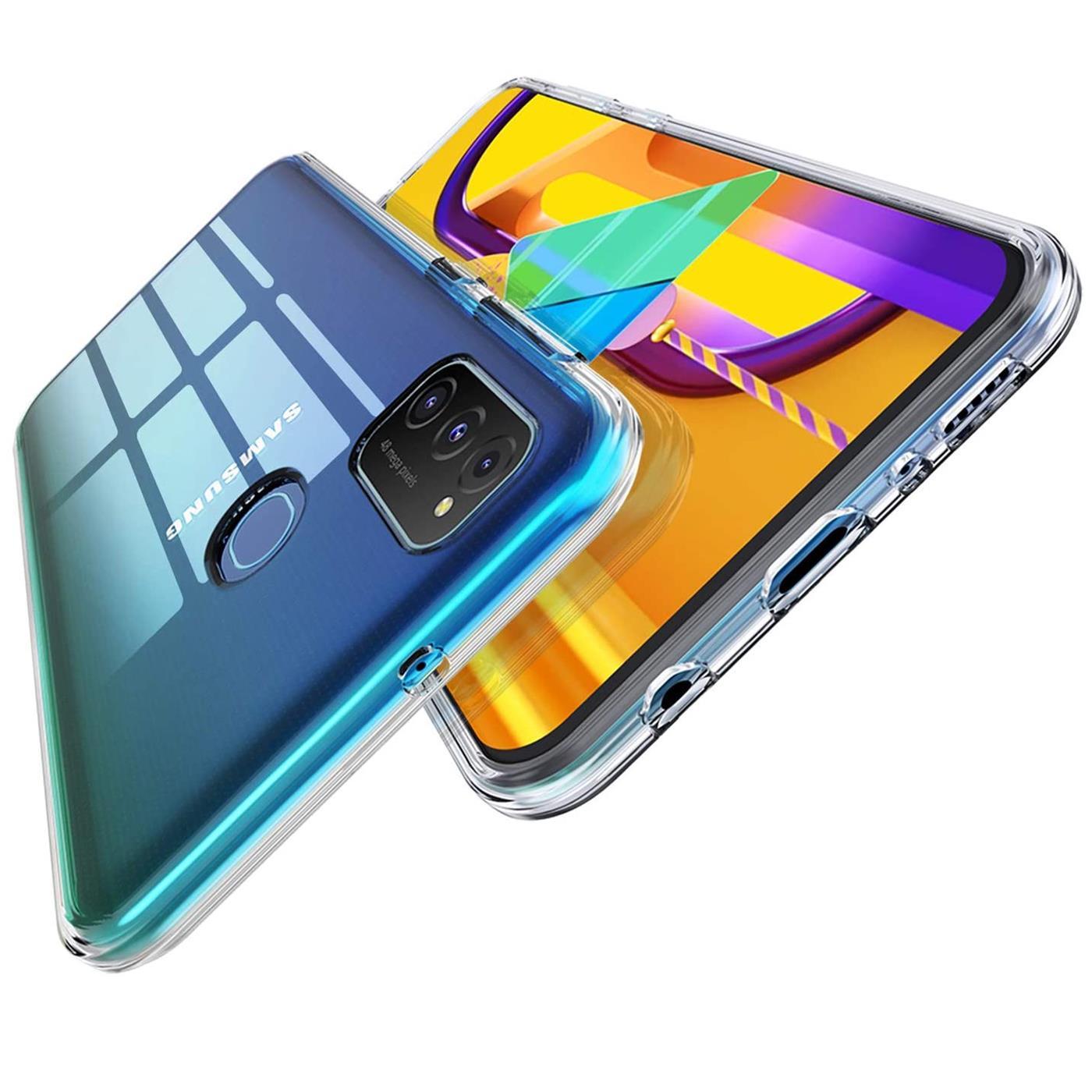 Handy-Case-fuer-Samsung-Galaxy-M31-Huelle-Transparent-Slim-Tasche-Handyhuelle-Cover Indexbild 10