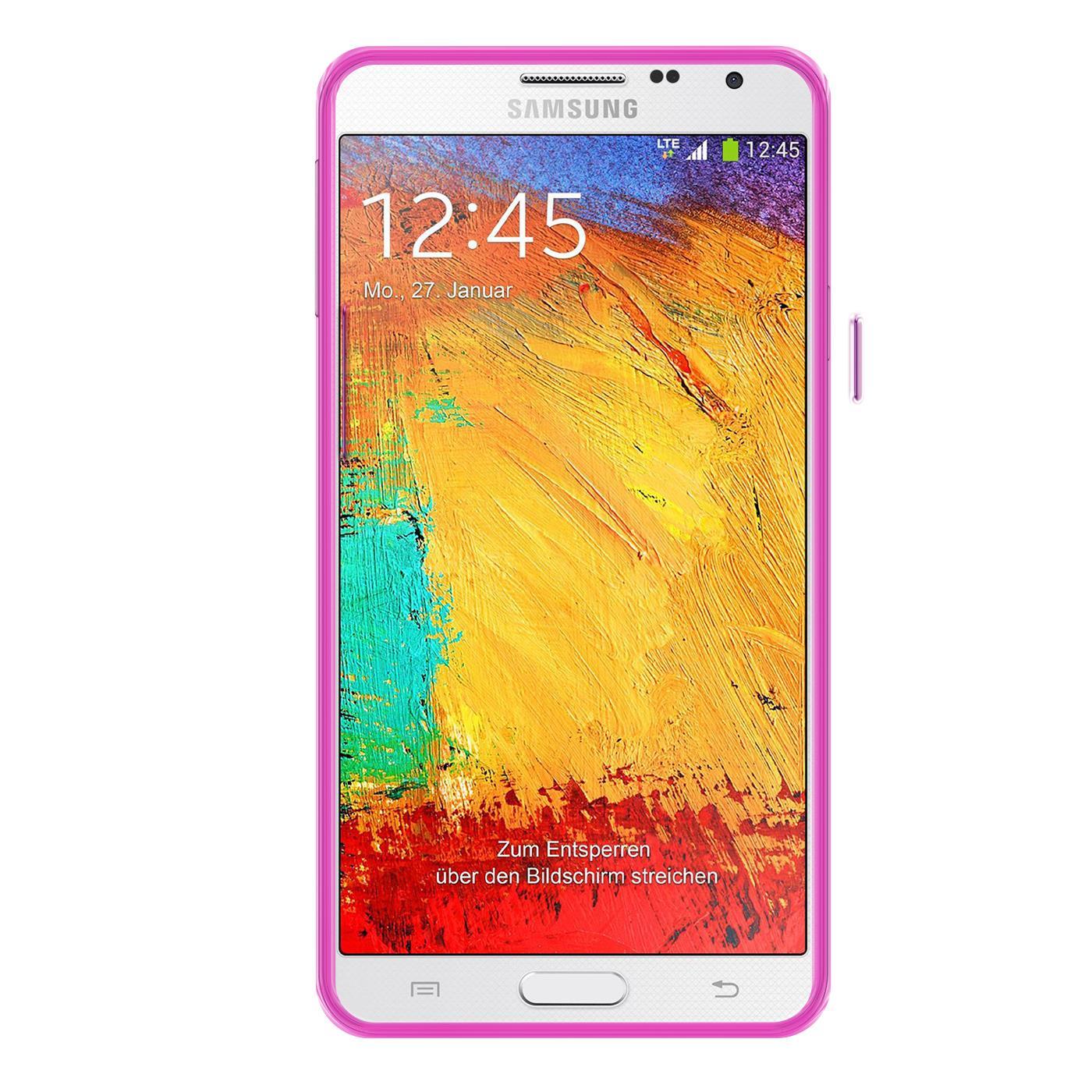 Samsung-Galaxy-Note-4-Thin-Silikon-Klar-Case-Cover-Ultra-Slim-Stossfeste-Gel Indexbild 25
