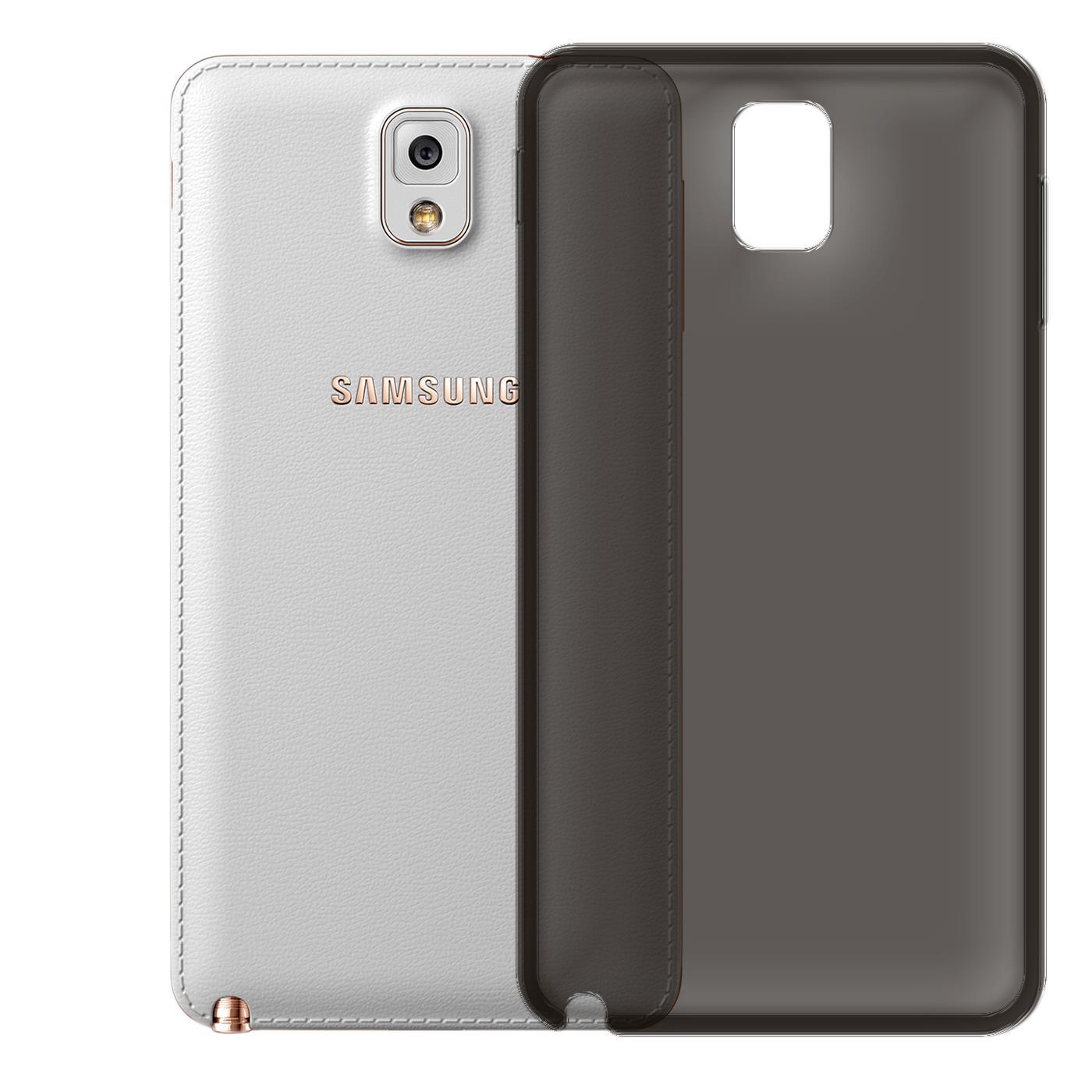 Samsung-Galaxy-Note-4-Thin-Silikon-Klar-Case-Cover-Ultra-Slim-Stossfeste-Gel Indexbild 28