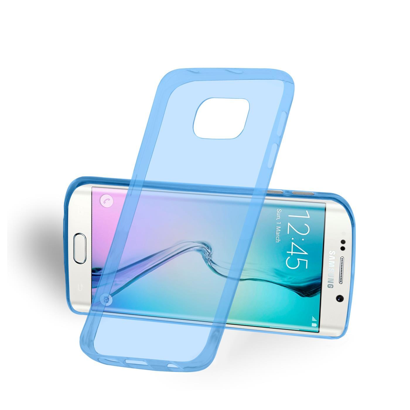 Samsung-Galaxy-s6-Edge-Plus-Thin-Silikon-Klar-Case-Cover-Ultra-Slim-Stossfeste Indexbild 9