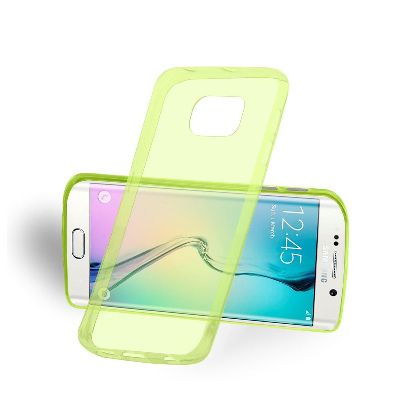 Samsung-Galaxy-s6-Edge-Plus-Thin-Silikon-Klar-Case-Cover-Ultra-Slim-Stossfeste Indexbild 13