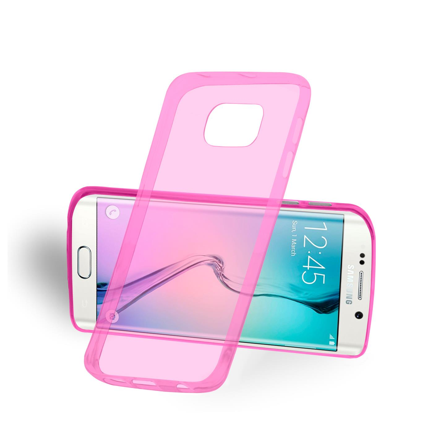 Samsung-Galaxy-s6-Edge-Plus-Thin-Silikon-Klar-Case-Cover-Ultra-Slim-Stossfeste Indexbild 25