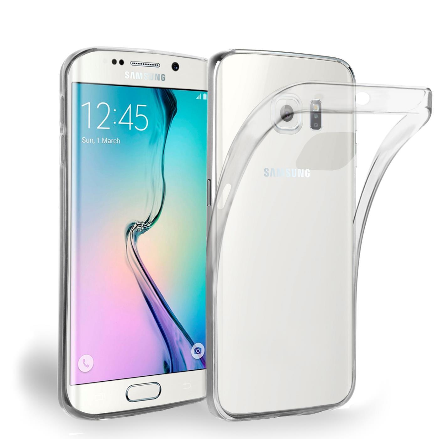 Samsung-Galaxy-s6-Edge-Plus-Thin-Silikon-Klar-Case-Cover-Ultra-Slim-Stossfeste Indexbild 2