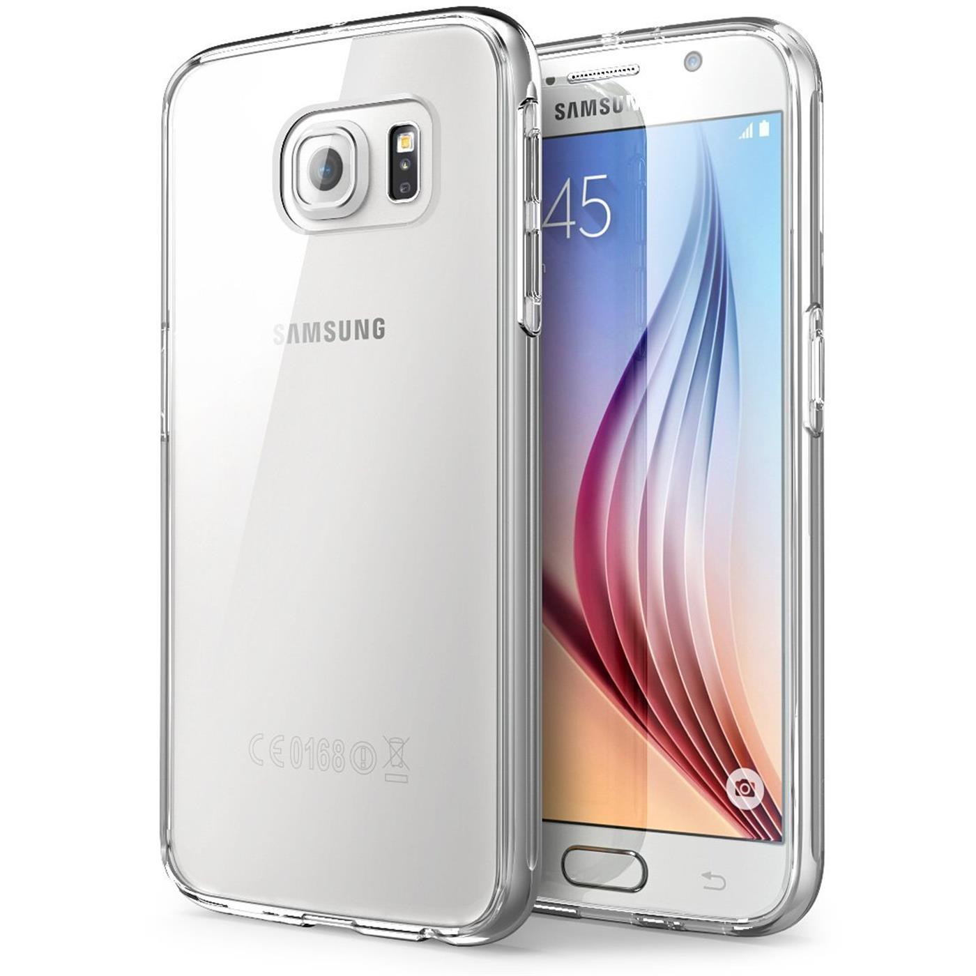 Samsung-Galaxy-s6-Edge-Plus-Thin-Silikon-Klar-Case-Cover-Ultra-Slim-Stossfeste Indexbild 4