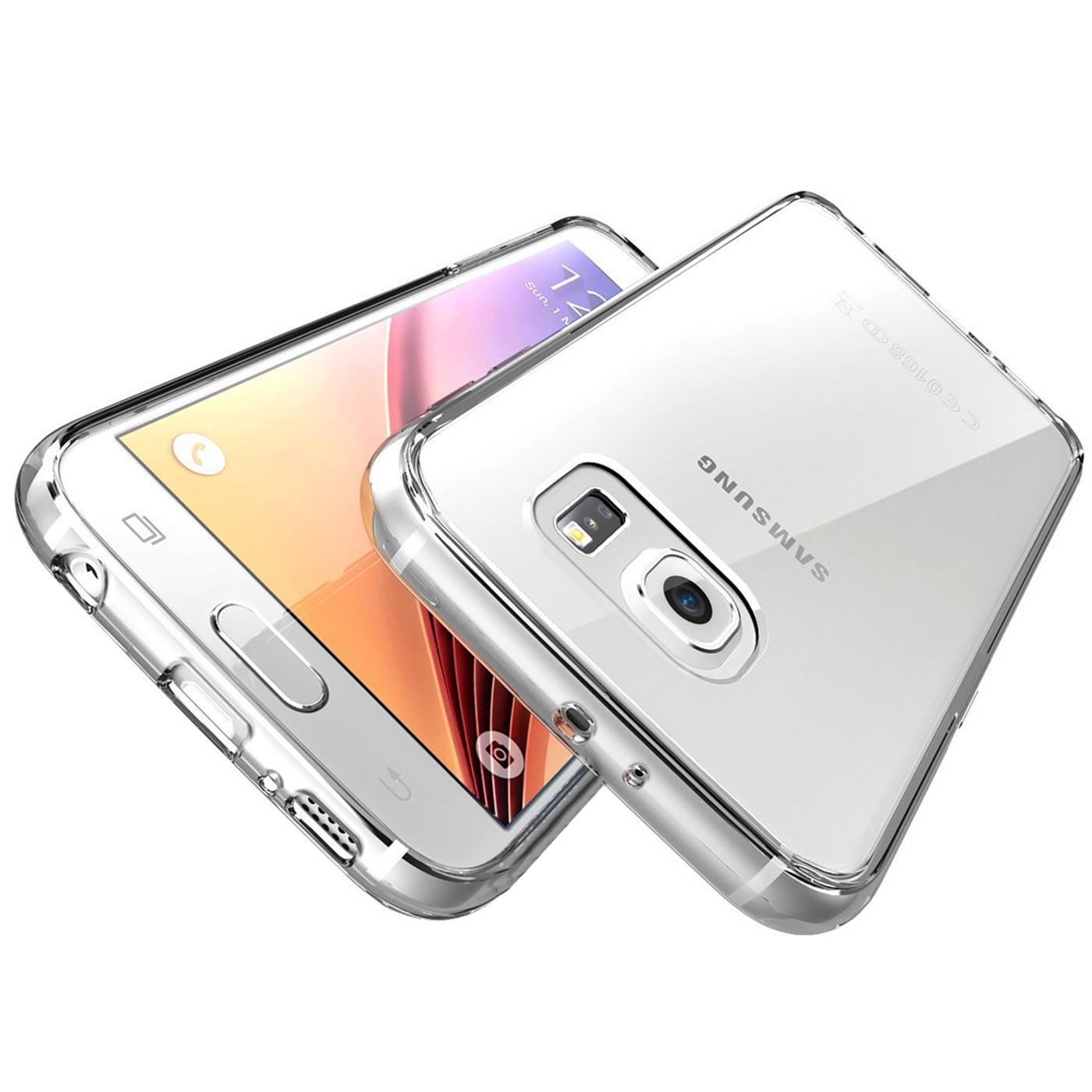 Samsung-Galaxy-s6-Edge-Plus-Thin-Silikon-Klar-Case-Cover-Ultra-Slim-Stossfeste Indexbild 34