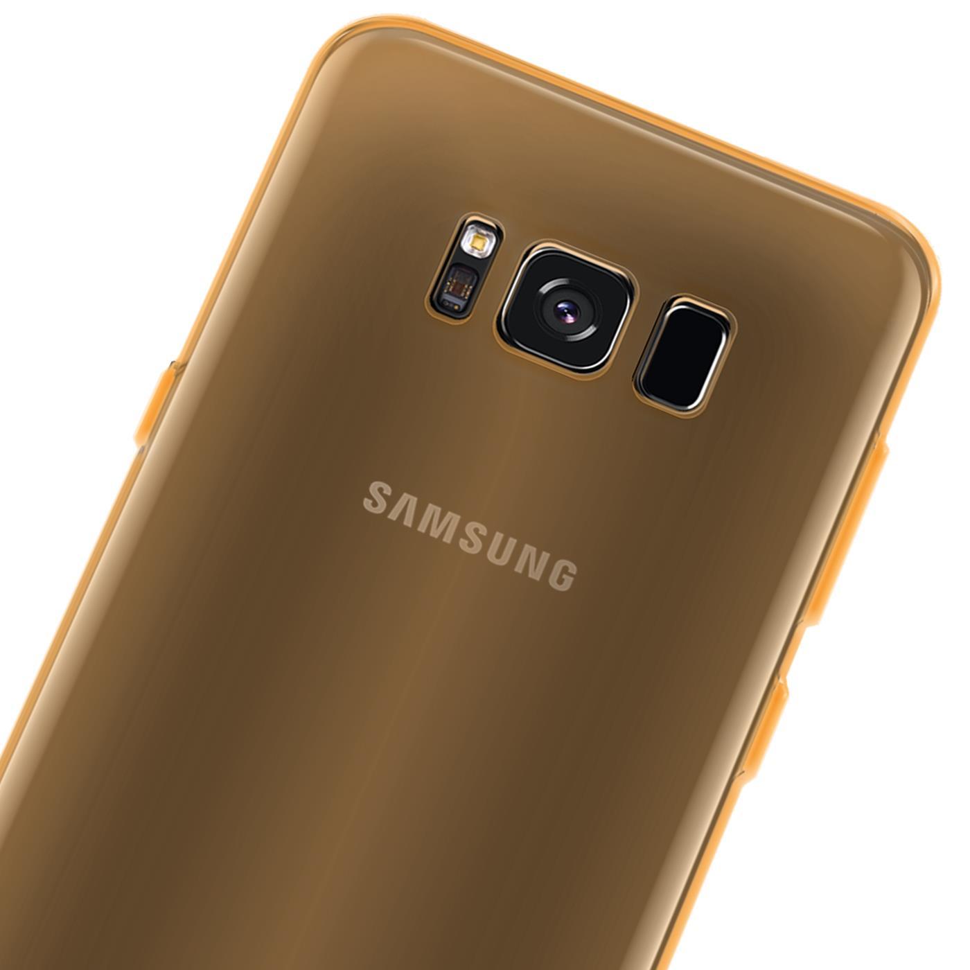 Handy Hülle Silikon Case Schutz Tasche Dünn Slim Cover Samsung Galaxy Modelle