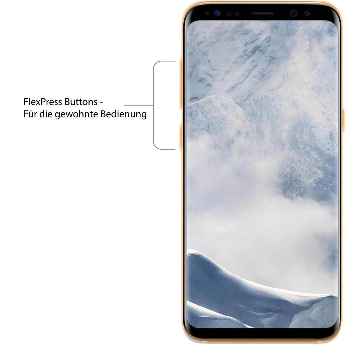 Samsung-Galaxy-s8-Duenn-Silikon-Klar-Case-Cover-Ultra-Slim-Stossfeste-Gel-Rueckseite Indexbild 18