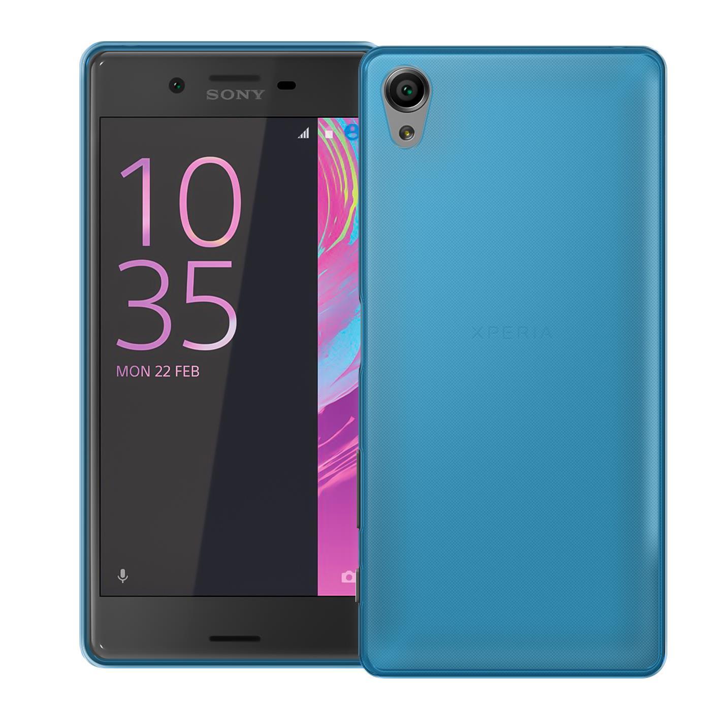 Ultra-Slim-Cover-fuer-Sony-Xperia-Huelle-Case-Silikon-Schutzhuelle-Bumper-Tasche