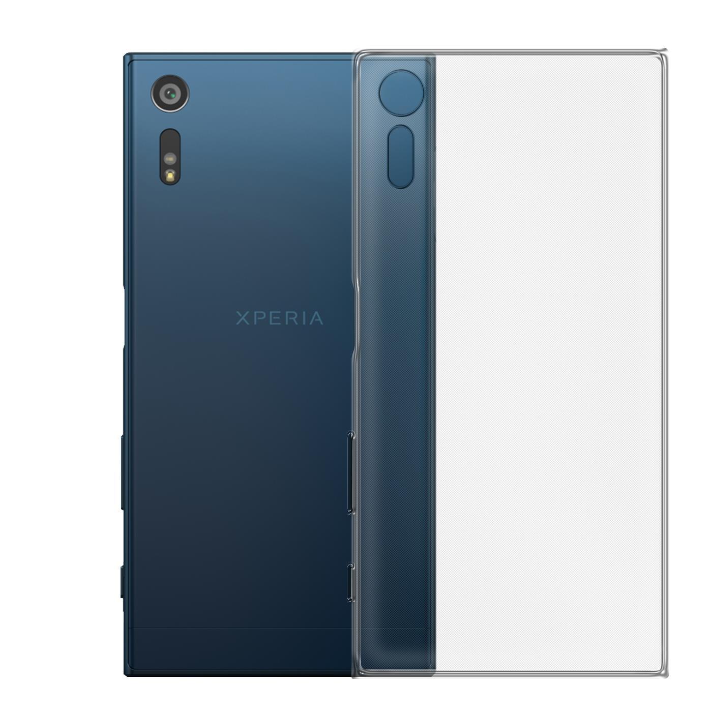 Sony-Xperia-XZ-Thin-Silikon-Klar-Case-Cover-Ultra-Slim-Stossfeste-Gel-Rueckseite Indexbild 4